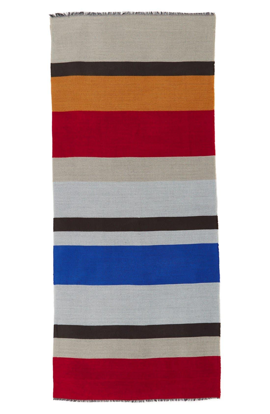 BlanketStripeScarf,                             Alternate thumbnail 3, color,                             611