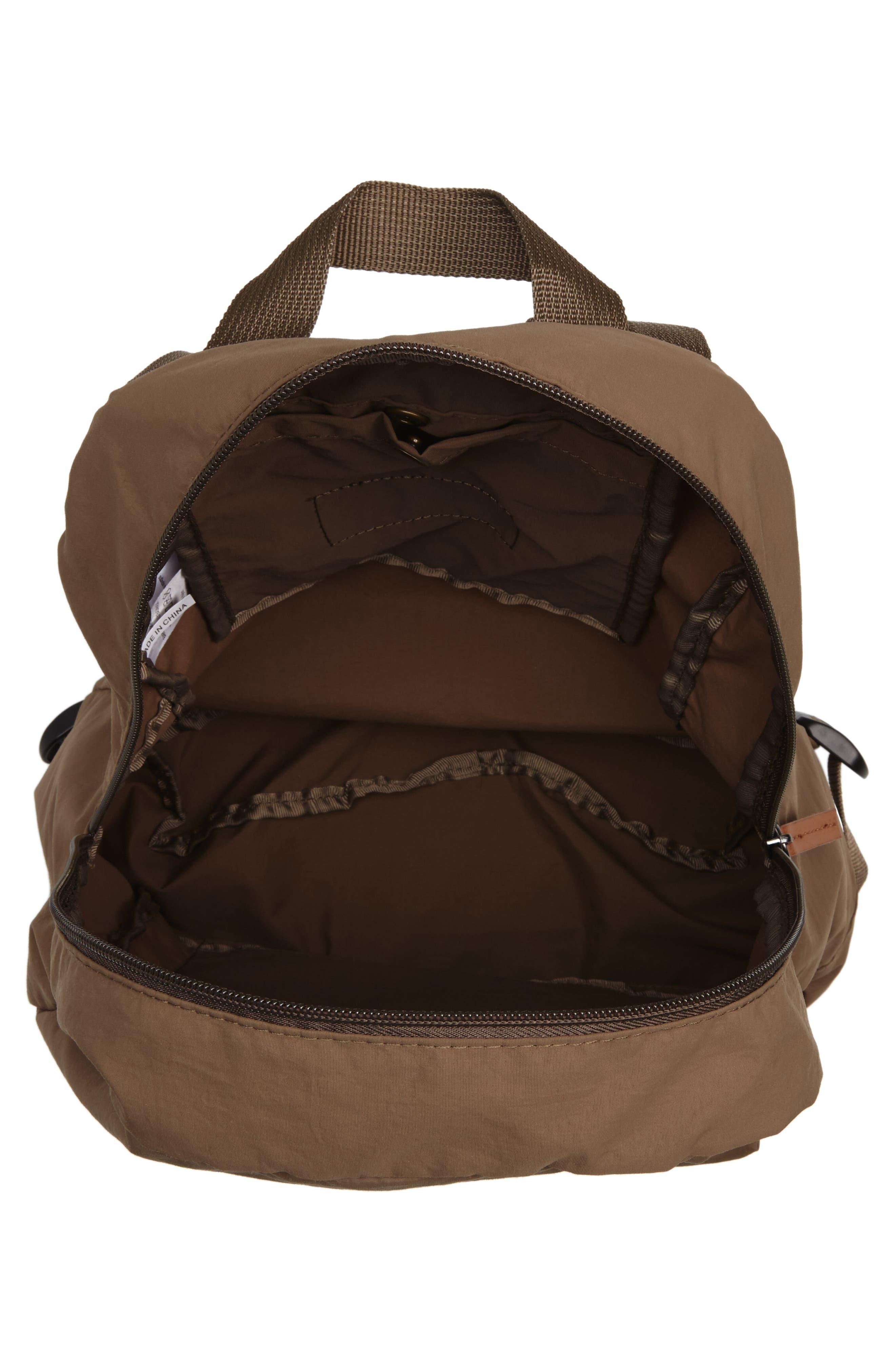 Beauly Packable Backpack,                             Alternate thumbnail 4, color,                             KHAKI