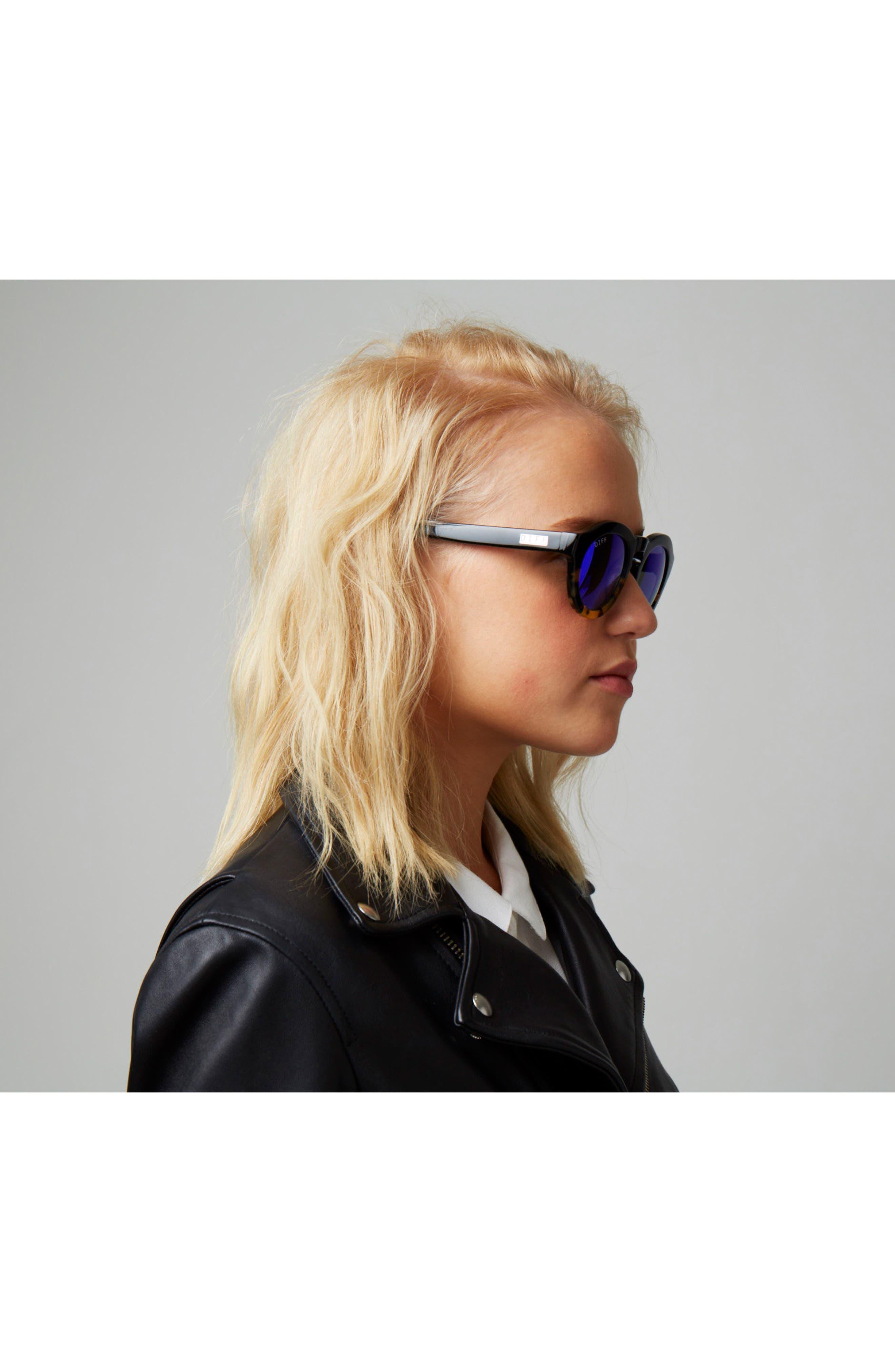 Dime 48mm Retro Sunglasses,                             Alternate thumbnail 34, color,