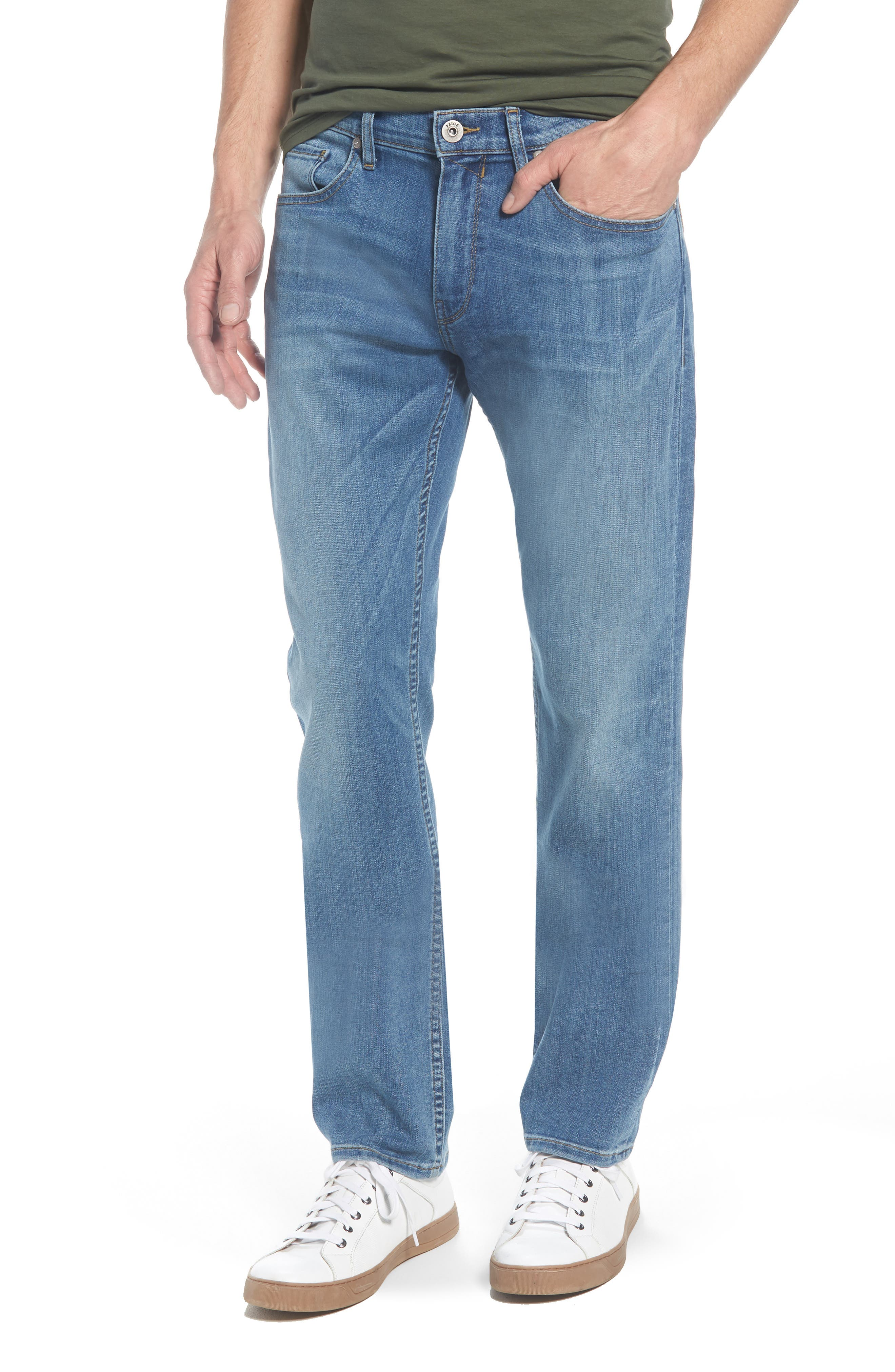 PAIGE,                             Federal Slim Straight Leg Jeans,                             Main thumbnail 1, color,                             400