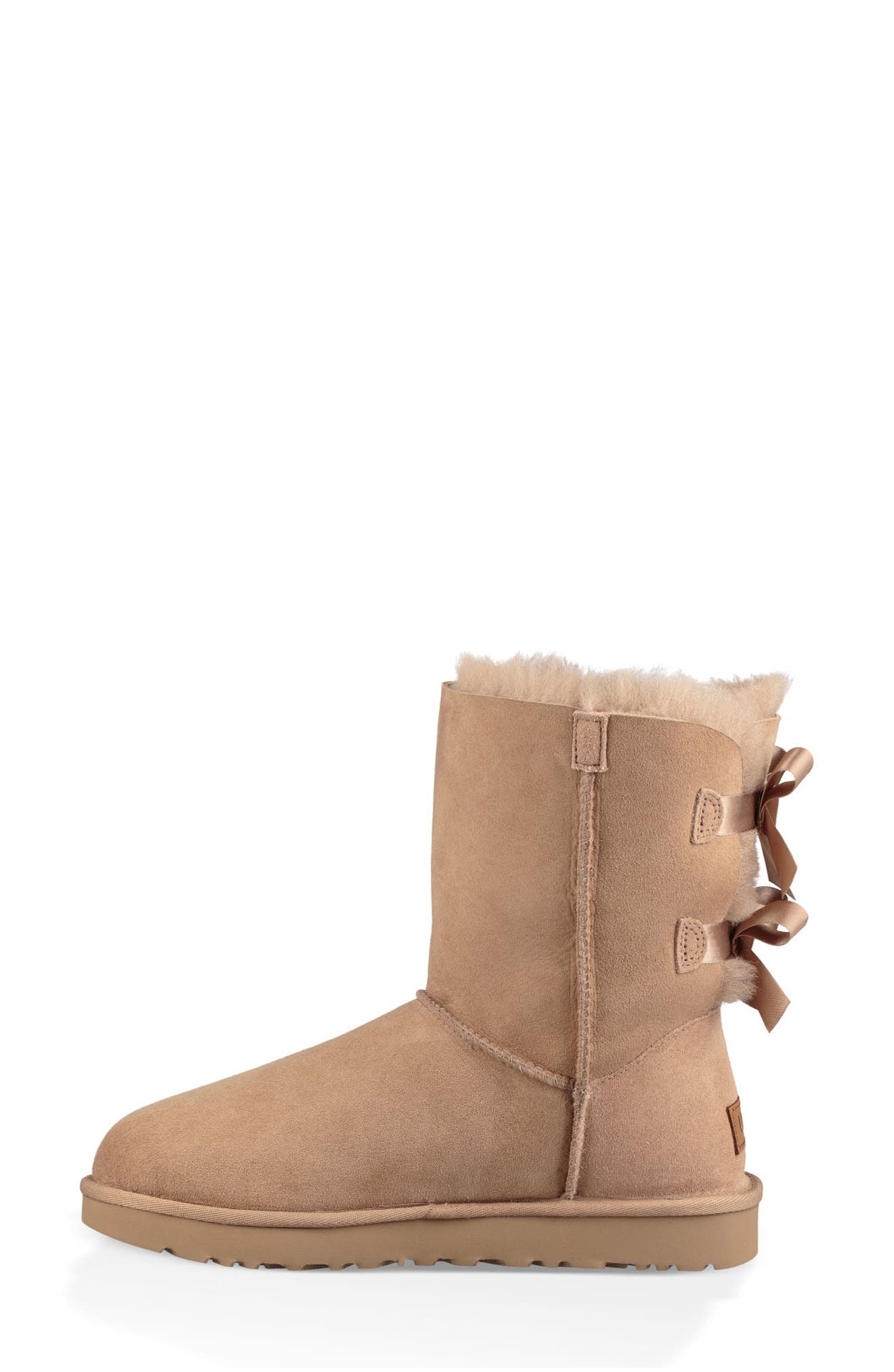 'Bailey Bow II' Boot,                             Alternate thumbnail 6, color,                             FAWN
