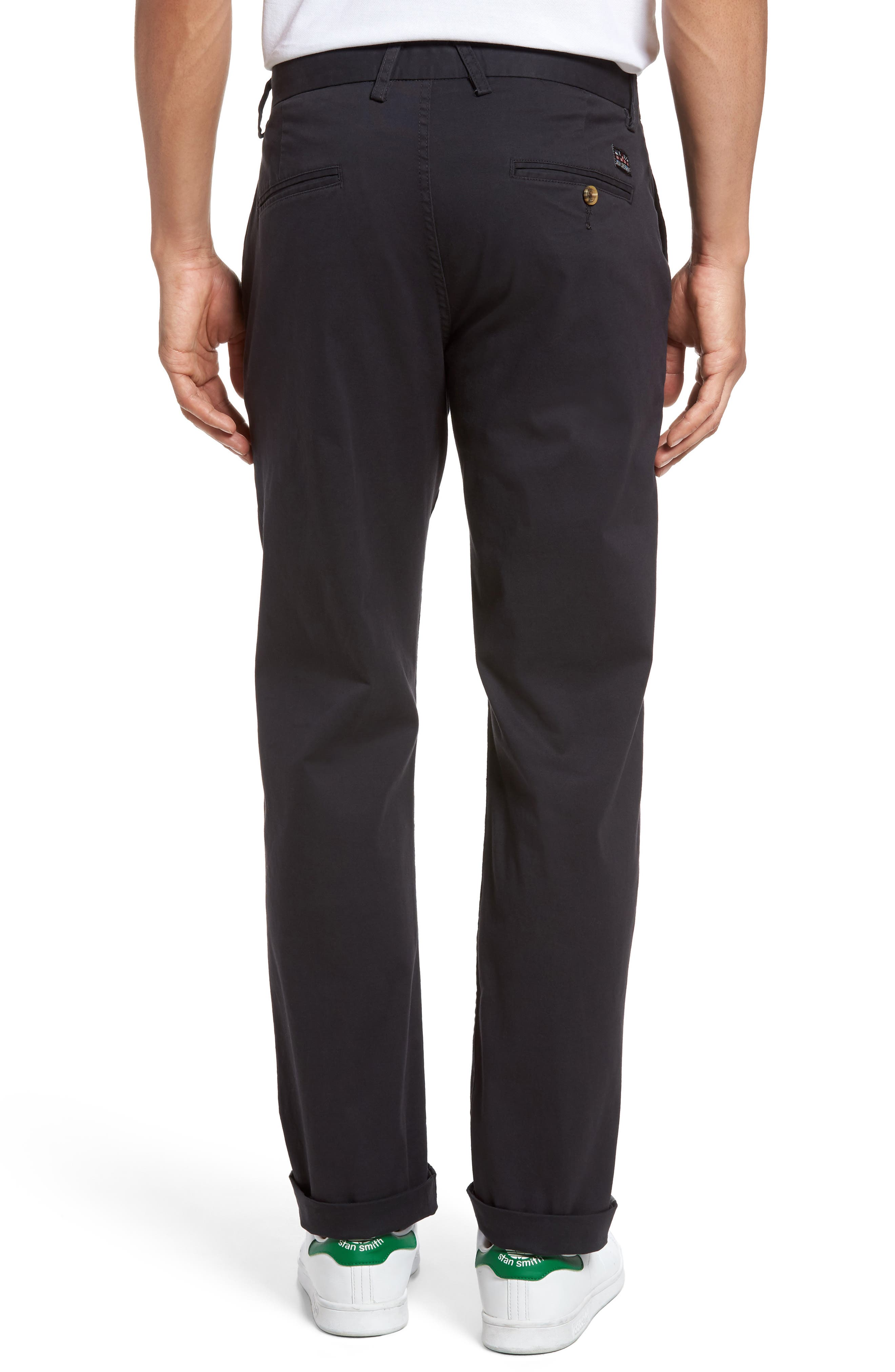 Slim Fit Stretch Chinos,                             Alternate thumbnail 22, color,