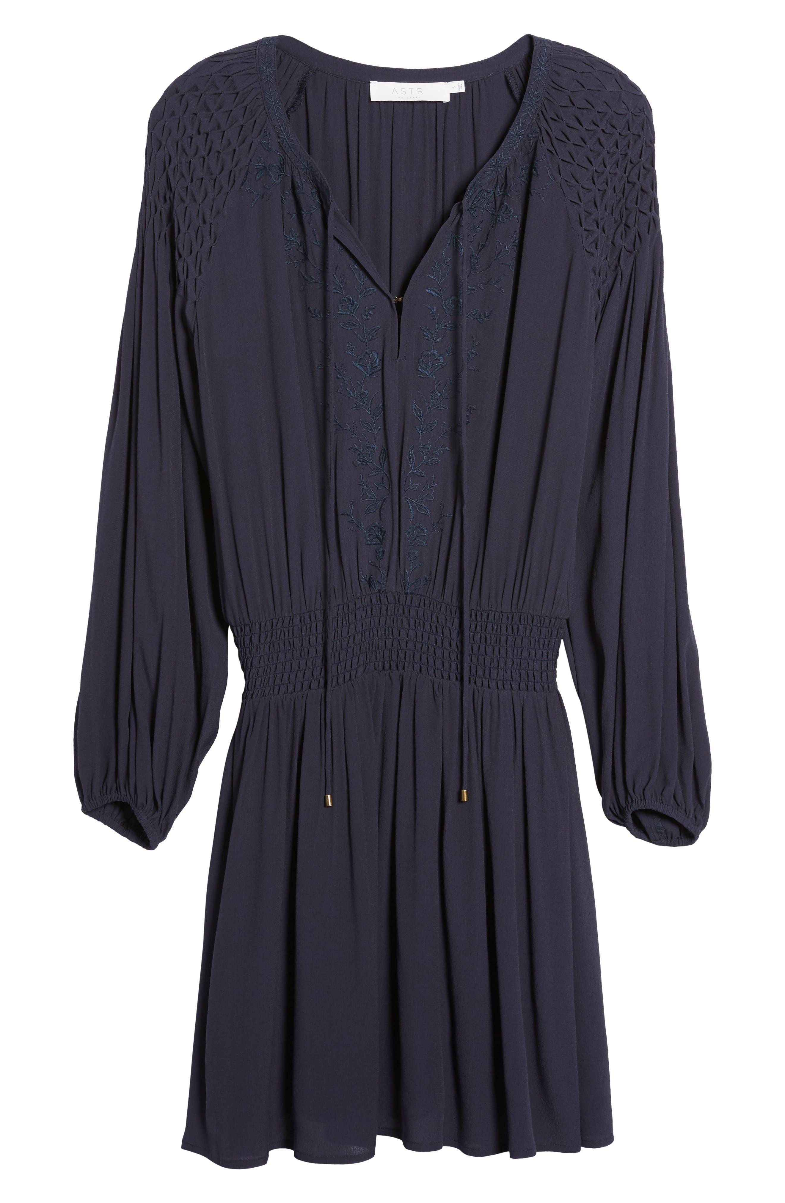Melinda Blouson Dress,                             Alternate thumbnail 11, color,