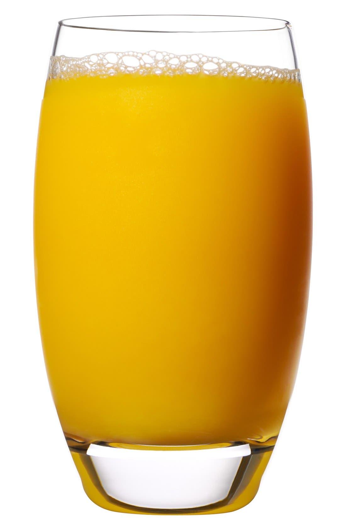 'Crescendo' Beverage Glasses,                             Alternate thumbnail 2, color,                             CLEAR