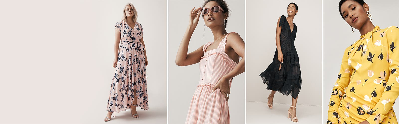 The new romantics: women's dresses.