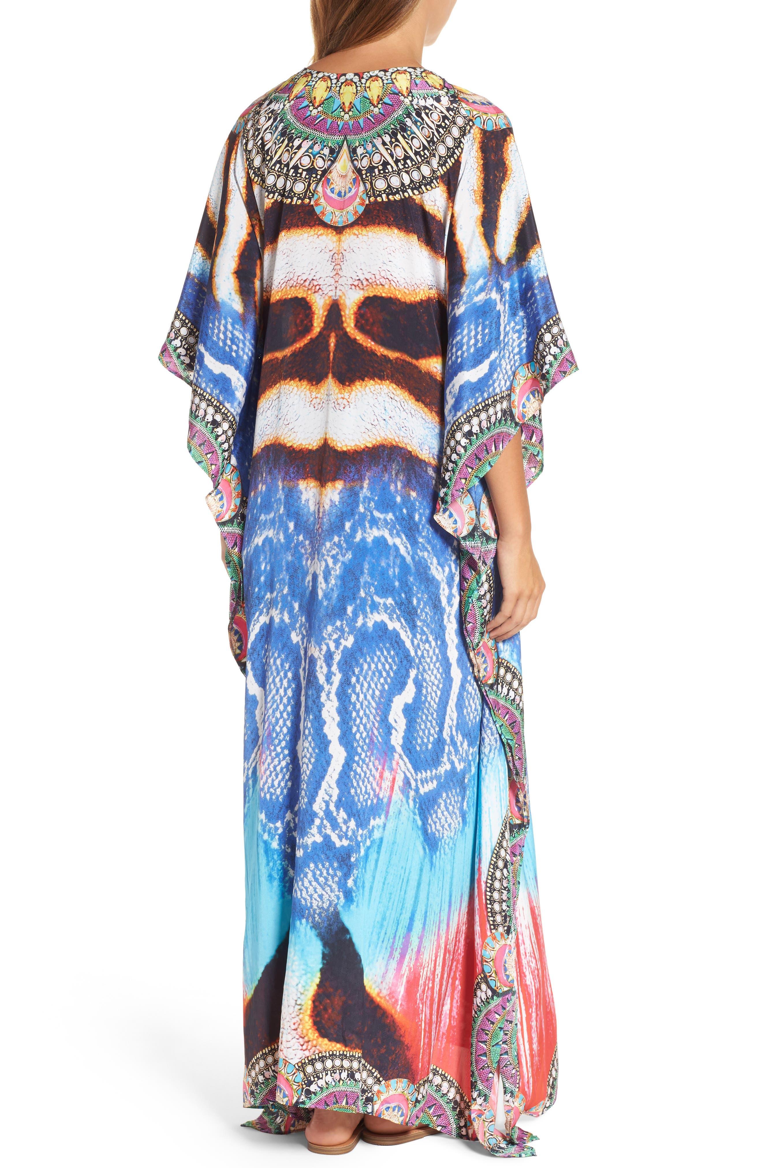 Sumatra Long Kaftan,                             Alternate thumbnail 2, color,                             403