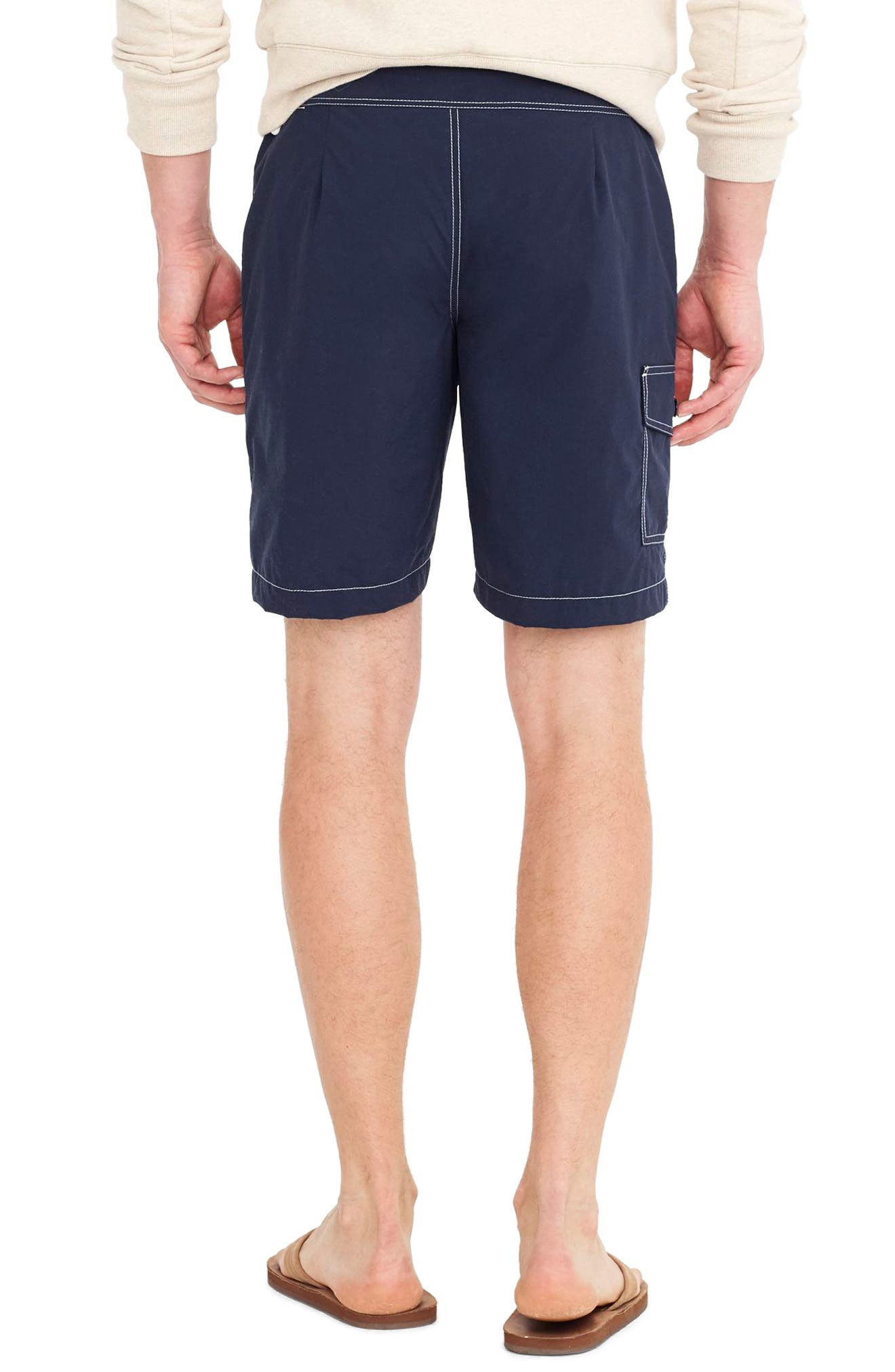 Solid Swim Trunks,                             Alternate thumbnail 2, color,                             400