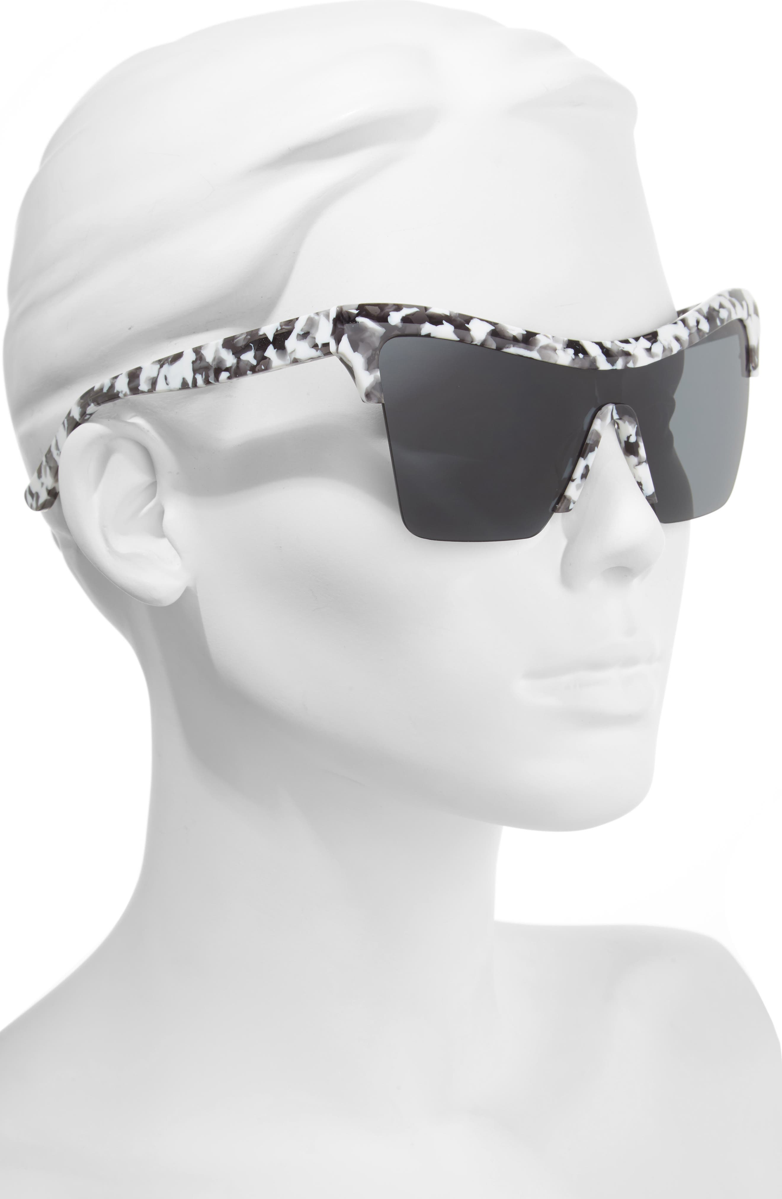 Passport Control 68mm Sunglasses,                             Alternate thumbnail 2, color,                             WHITE CAMO