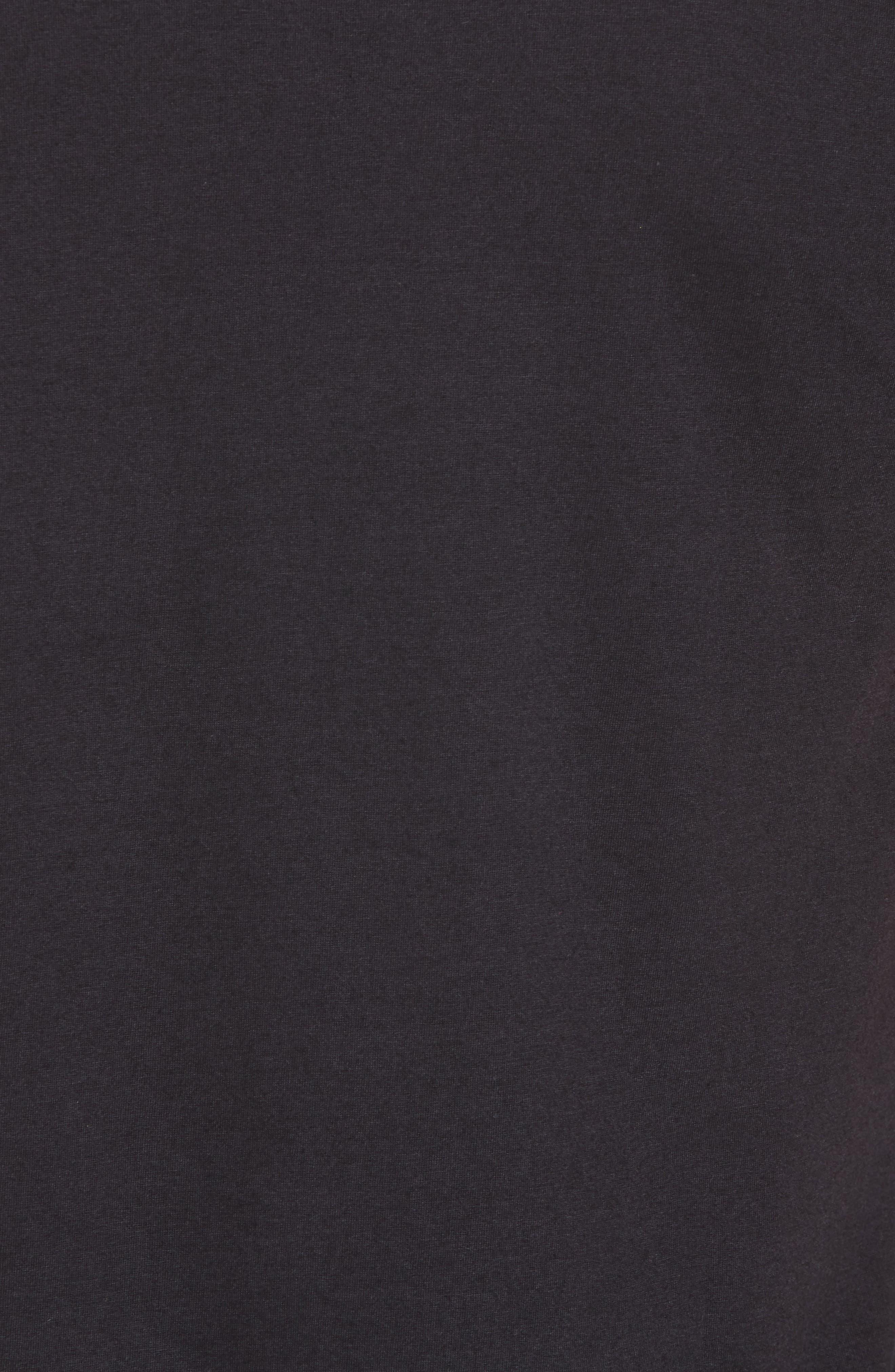TSL Emblem T-Shirt,                             Alternate thumbnail 5, color,                             BLACK / WHITE