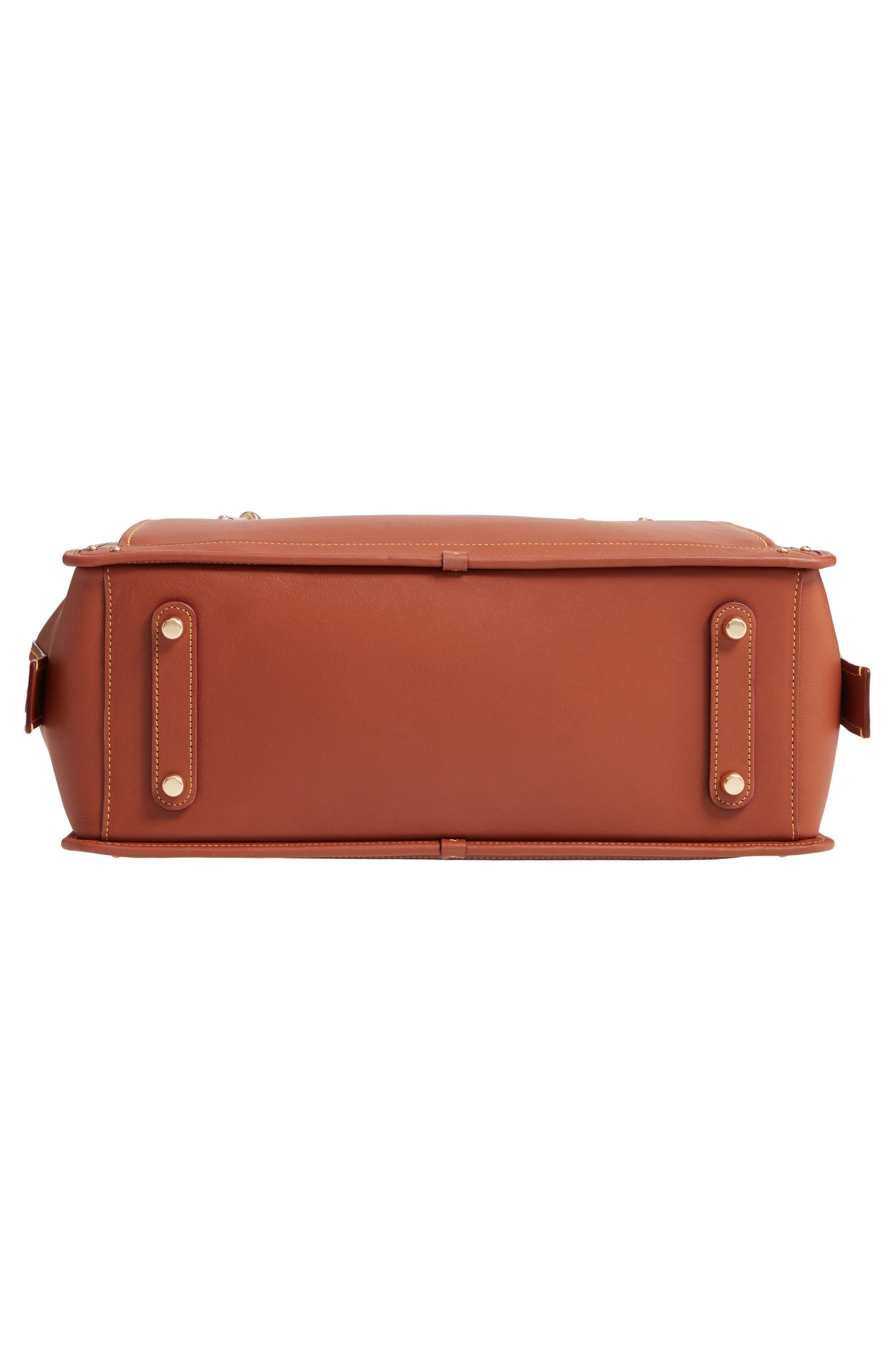 COACH,                             Dreamer 36 Leather Bag,                             Alternate thumbnail 6, color,                             LI/ 1941 SADDLE