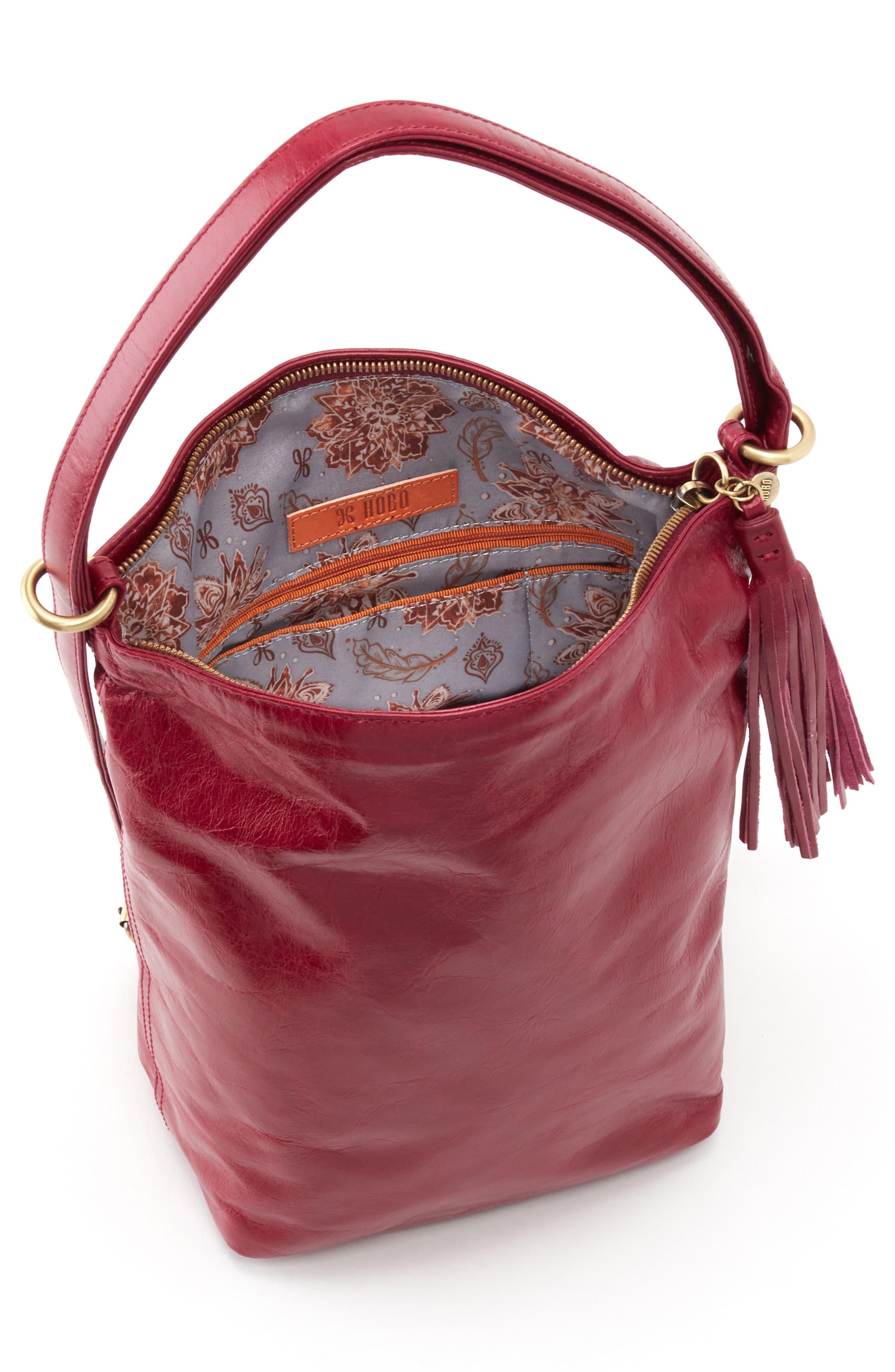 Blaze Convertible Shoulder Bag,                             Alternate thumbnail 3, color,                             RUBY
