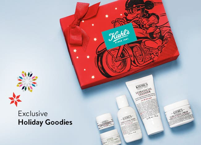 Exclusive Holiday Goodies.