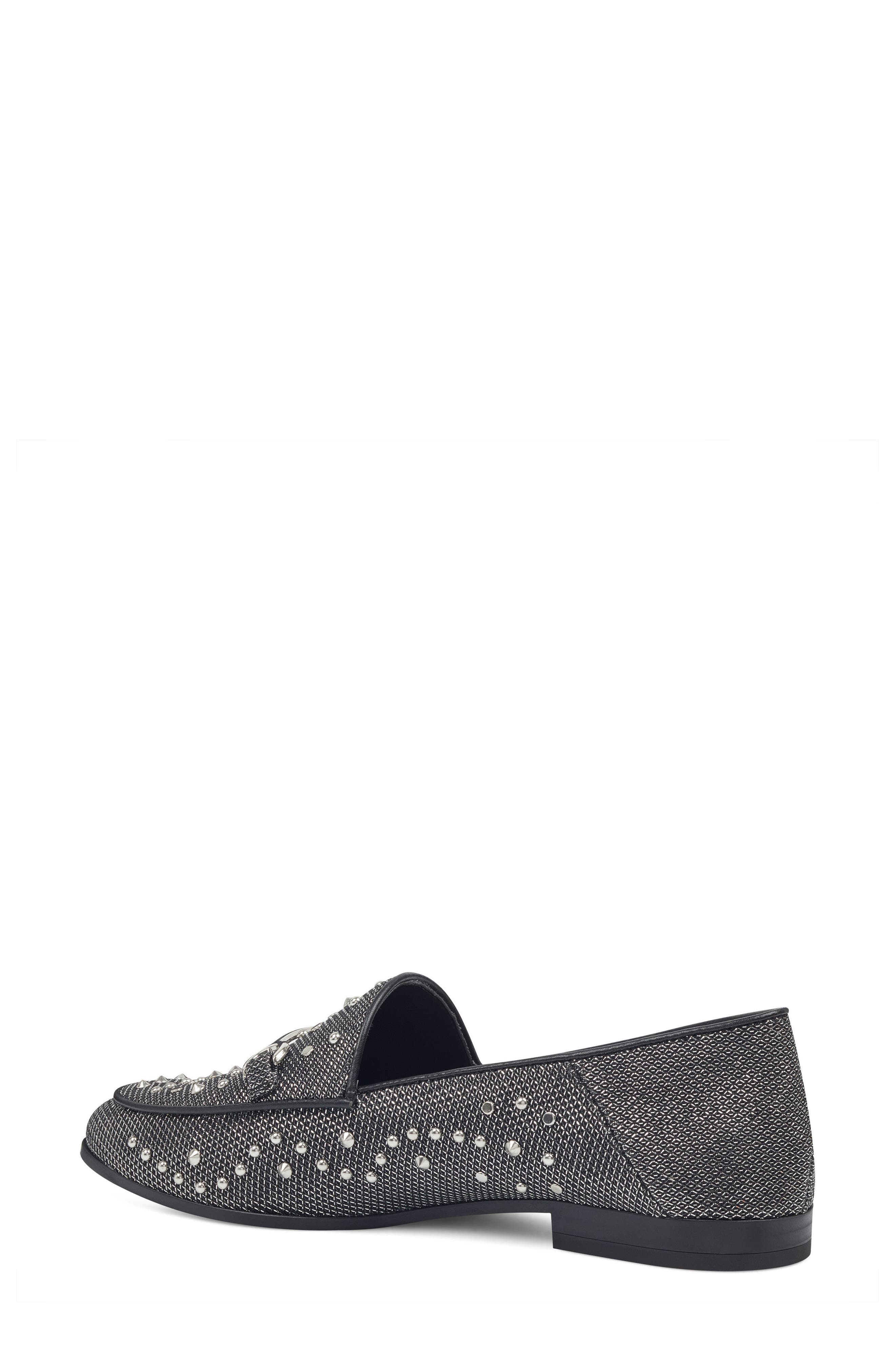 Westoy Studded Loafer,                             Alternate thumbnail 2, color,                             001