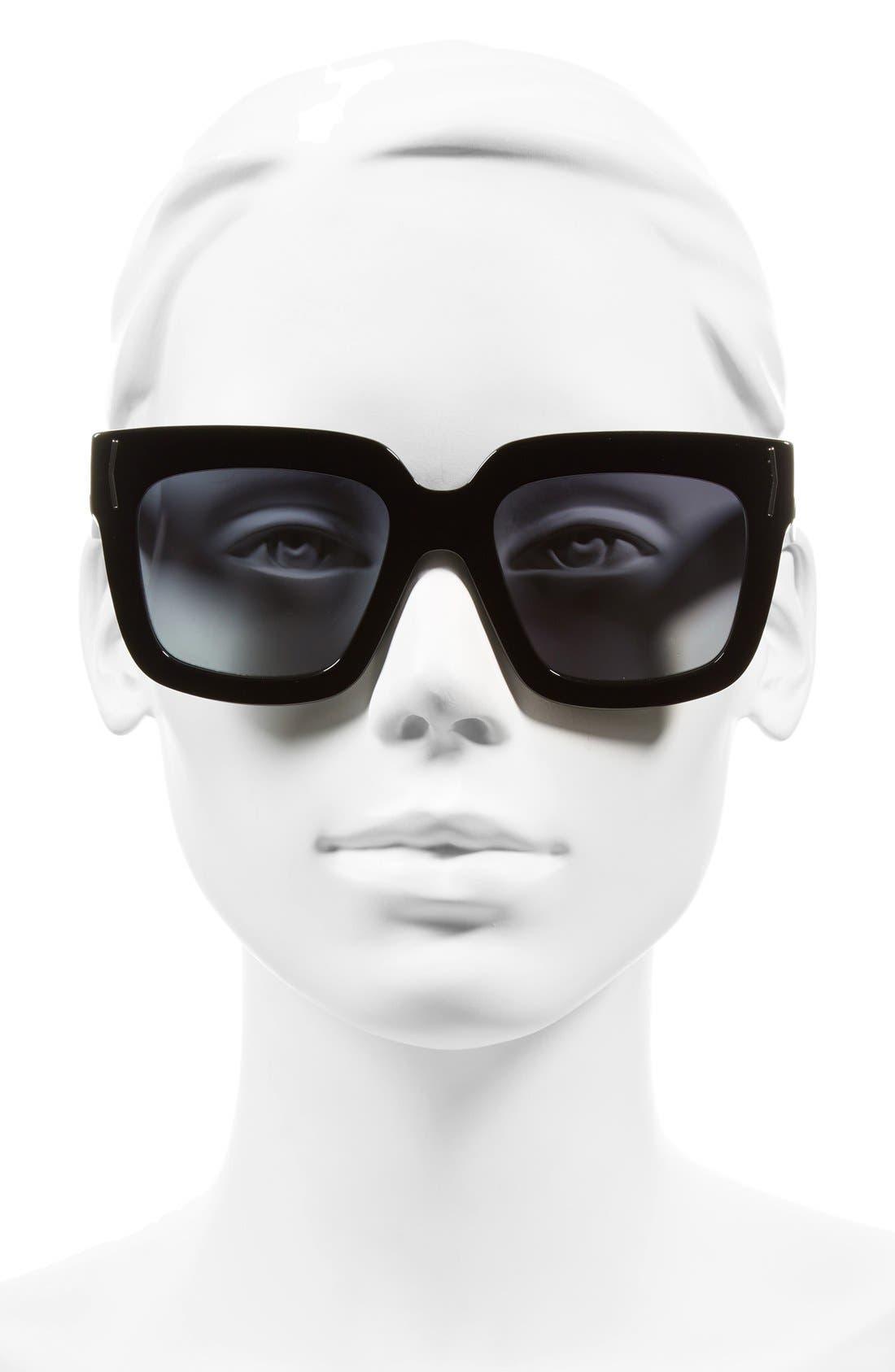 53mm Sunglasses,                             Alternate thumbnail 2, color,                             001