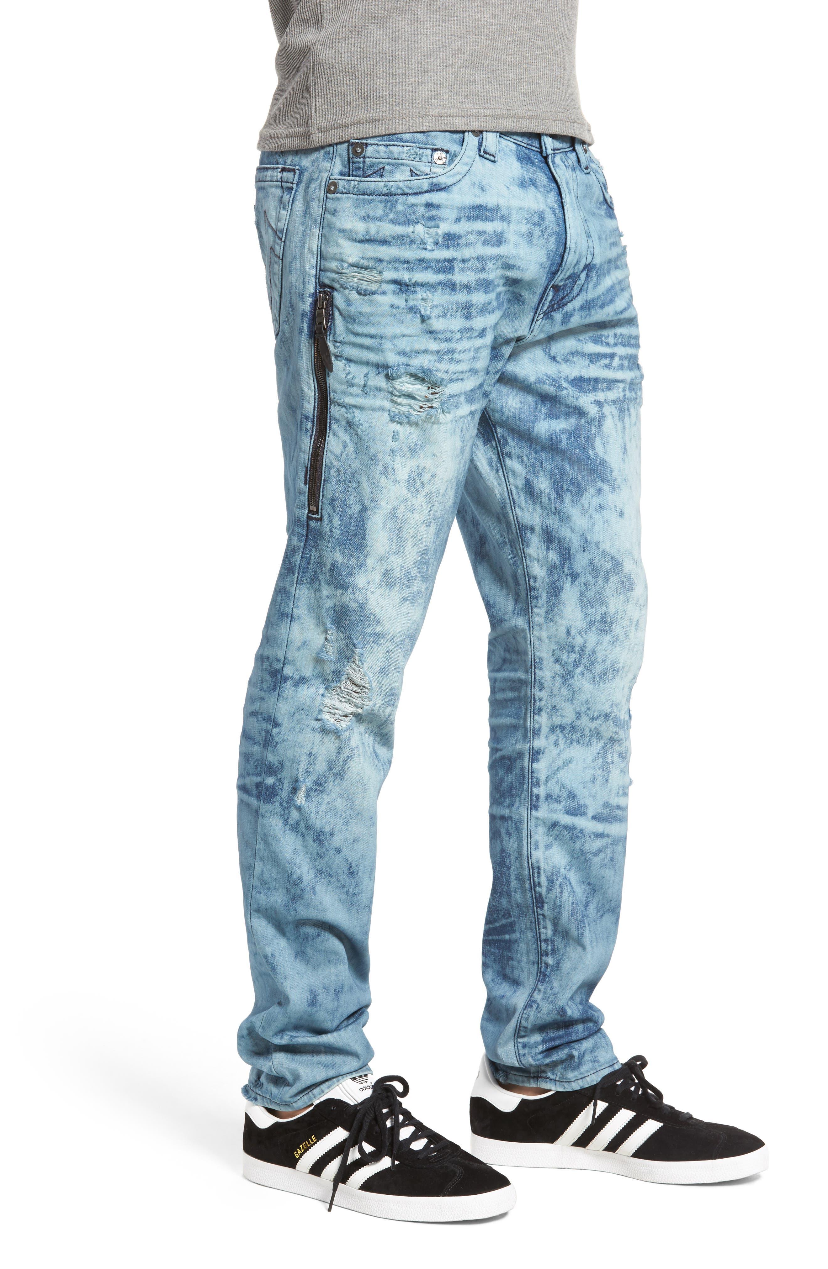 Mick Skinny Fit Jeans,                             Alternate thumbnail 3, color,                             401