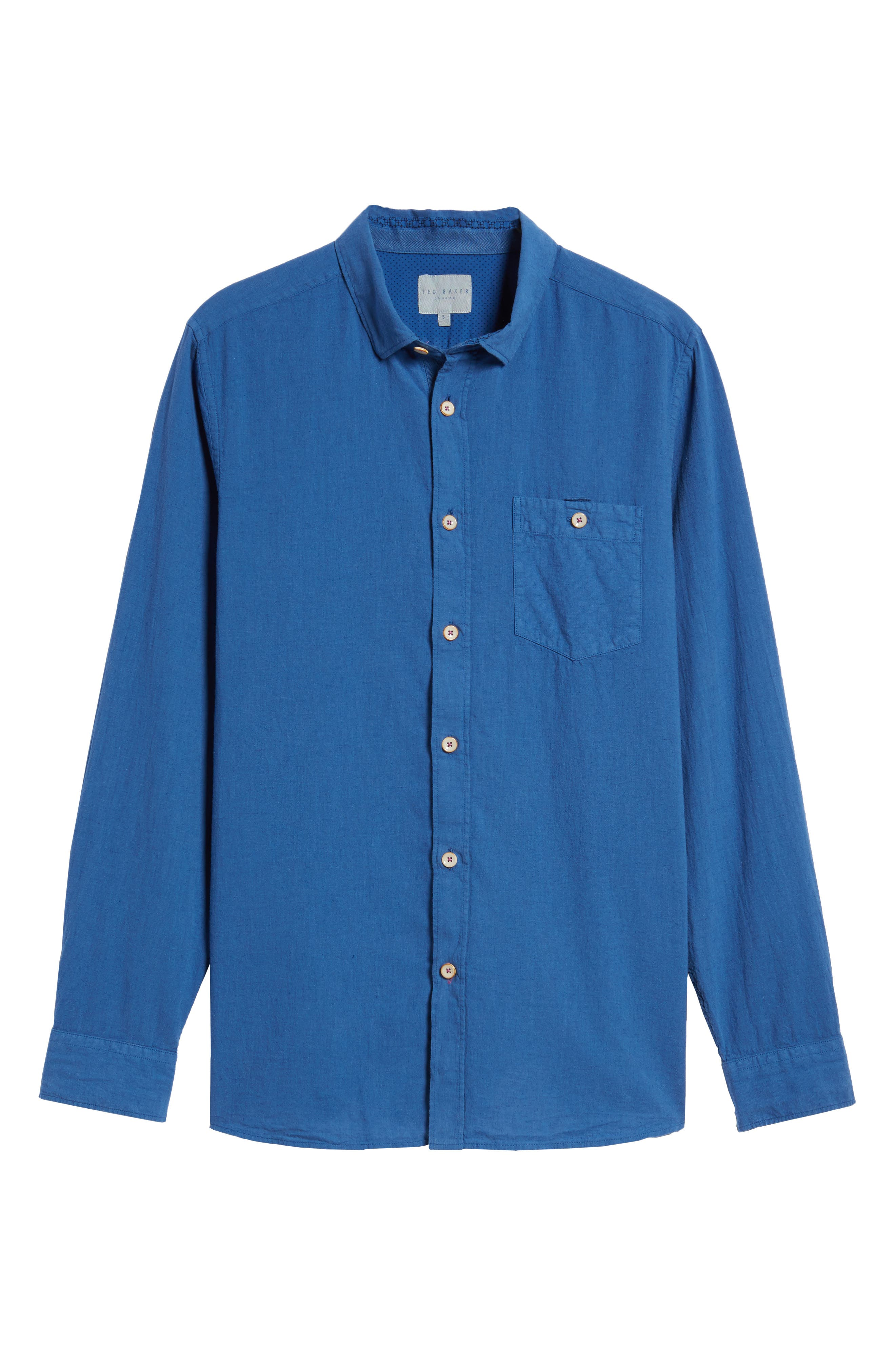 Carwash Modern Slim Fit Sport Shirt,                             Alternate thumbnail 17, color,