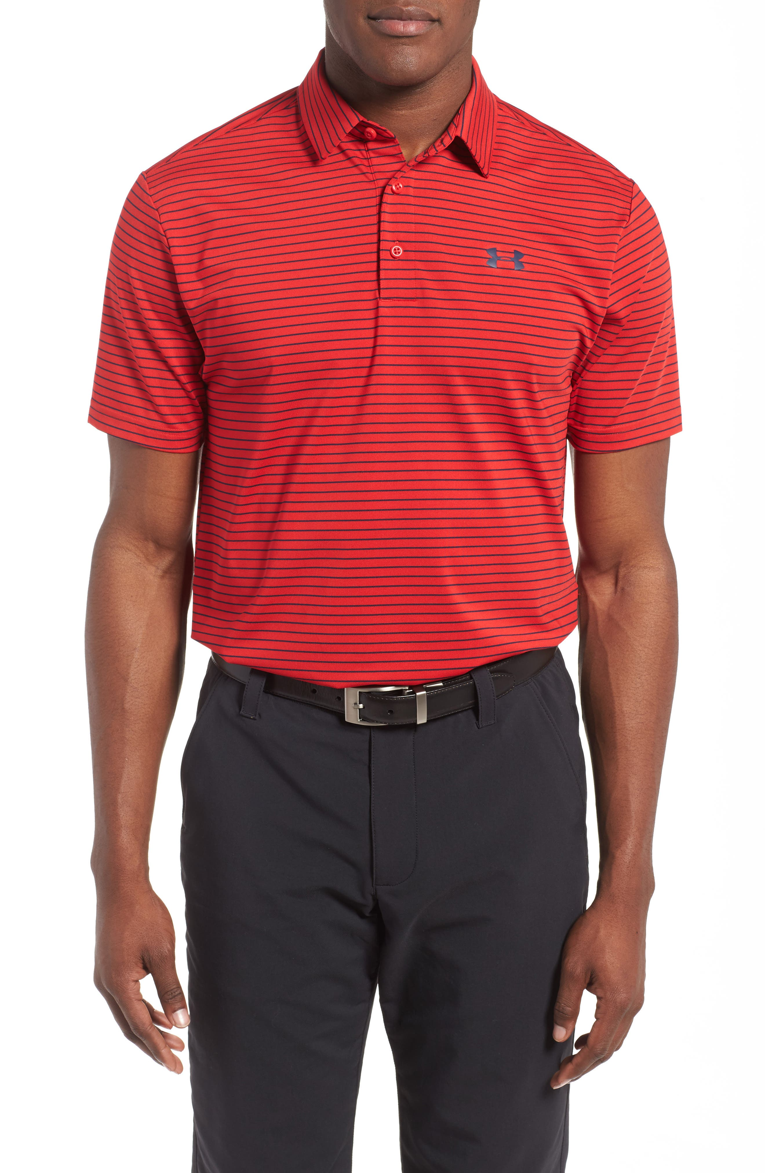 'Playoff' Loose Fit Short Sleeve Polo,                             Main thumbnail 49, color,