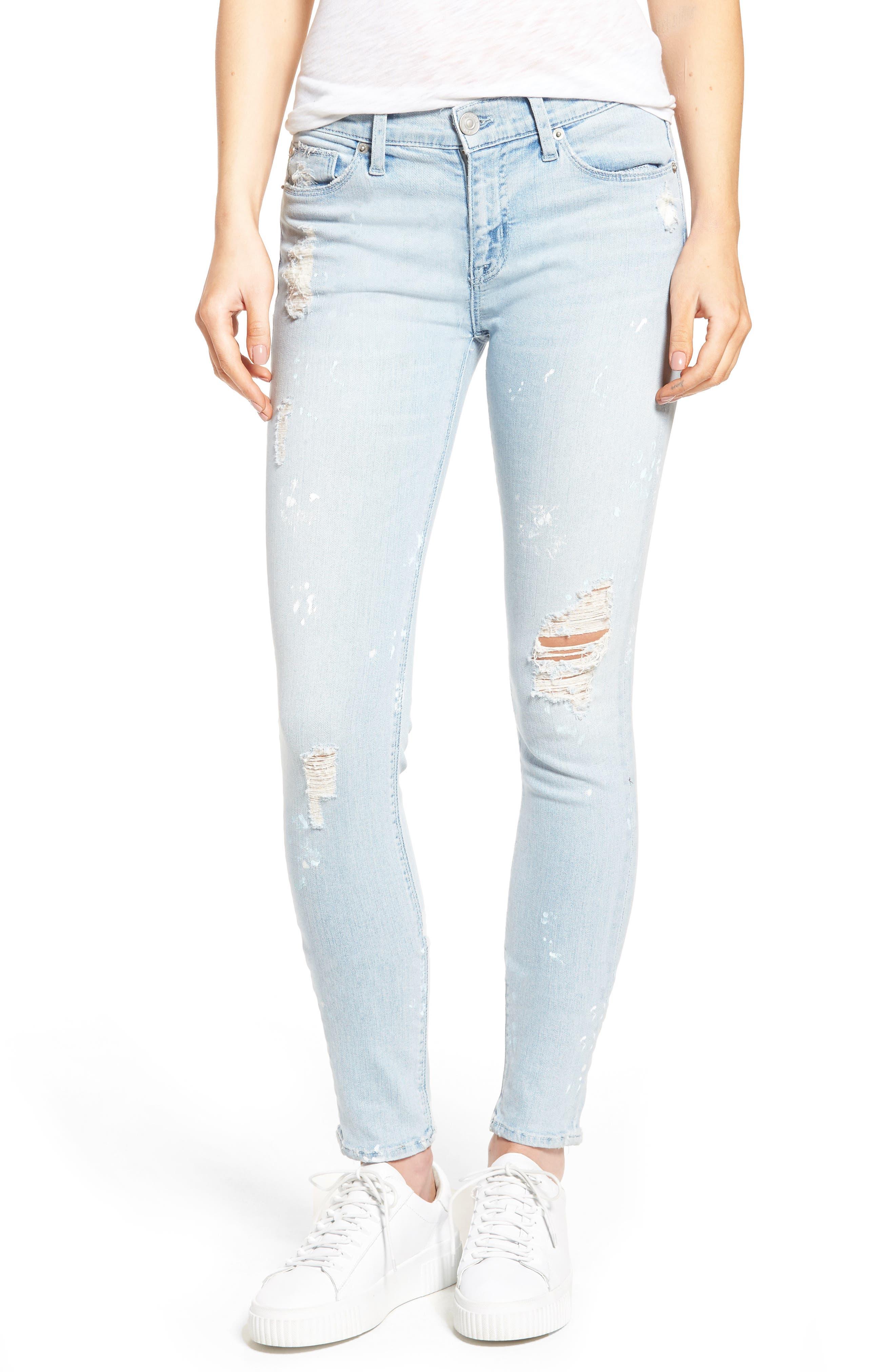 Hudson Nico Ankle Skinny Jeans,                             Main thumbnail 2, color,