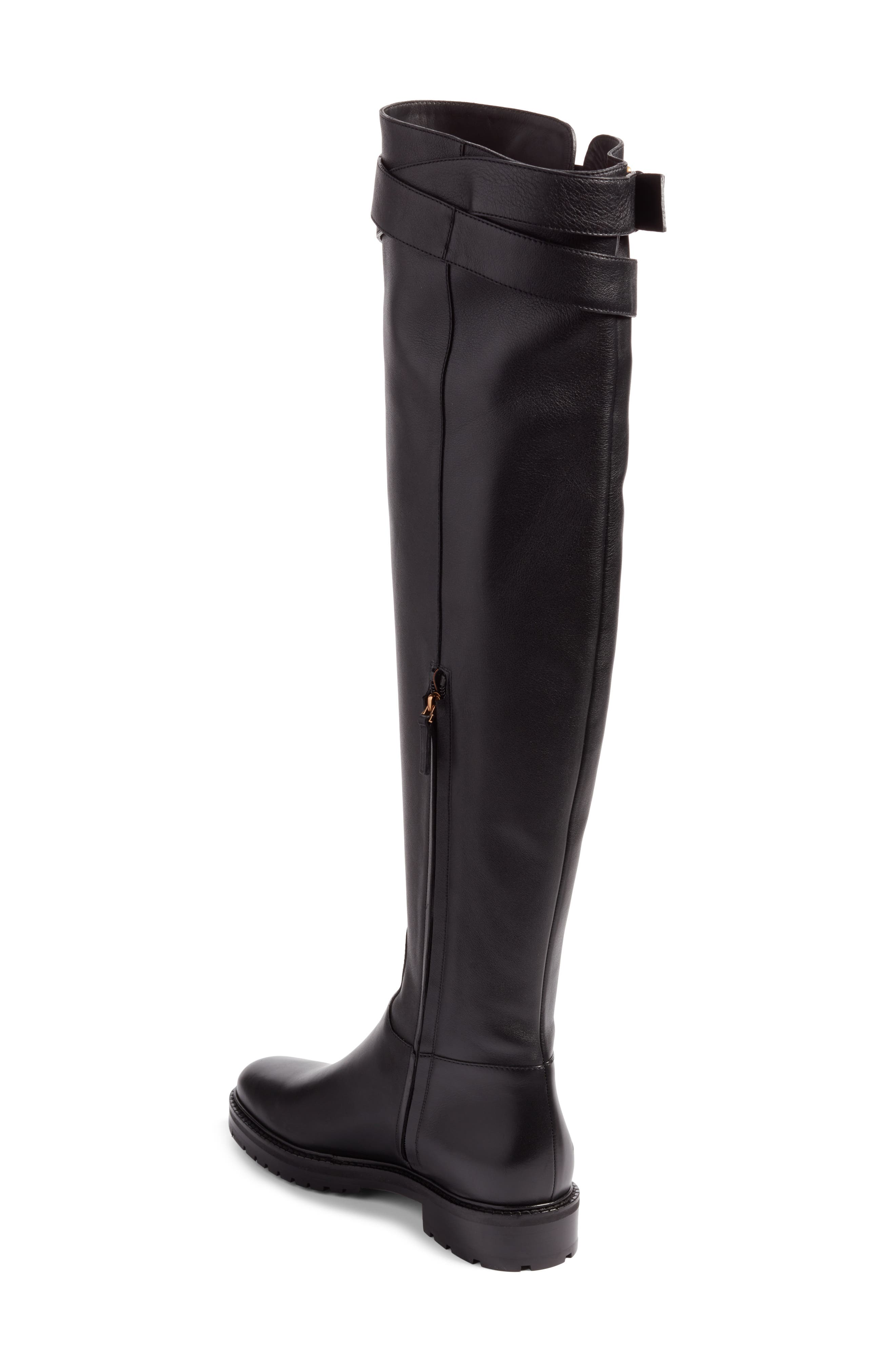 Bowrap Over the Knee Boot,                             Alternate thumbnail 2, color,                             001