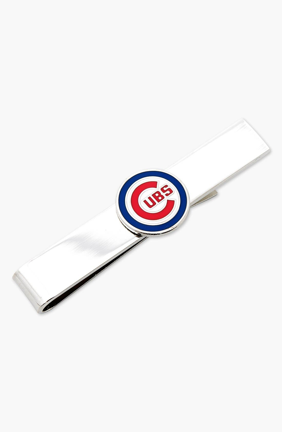 'Chicago Cubs' Tie Bar,                             Main thumbnail 1, color,                             045
