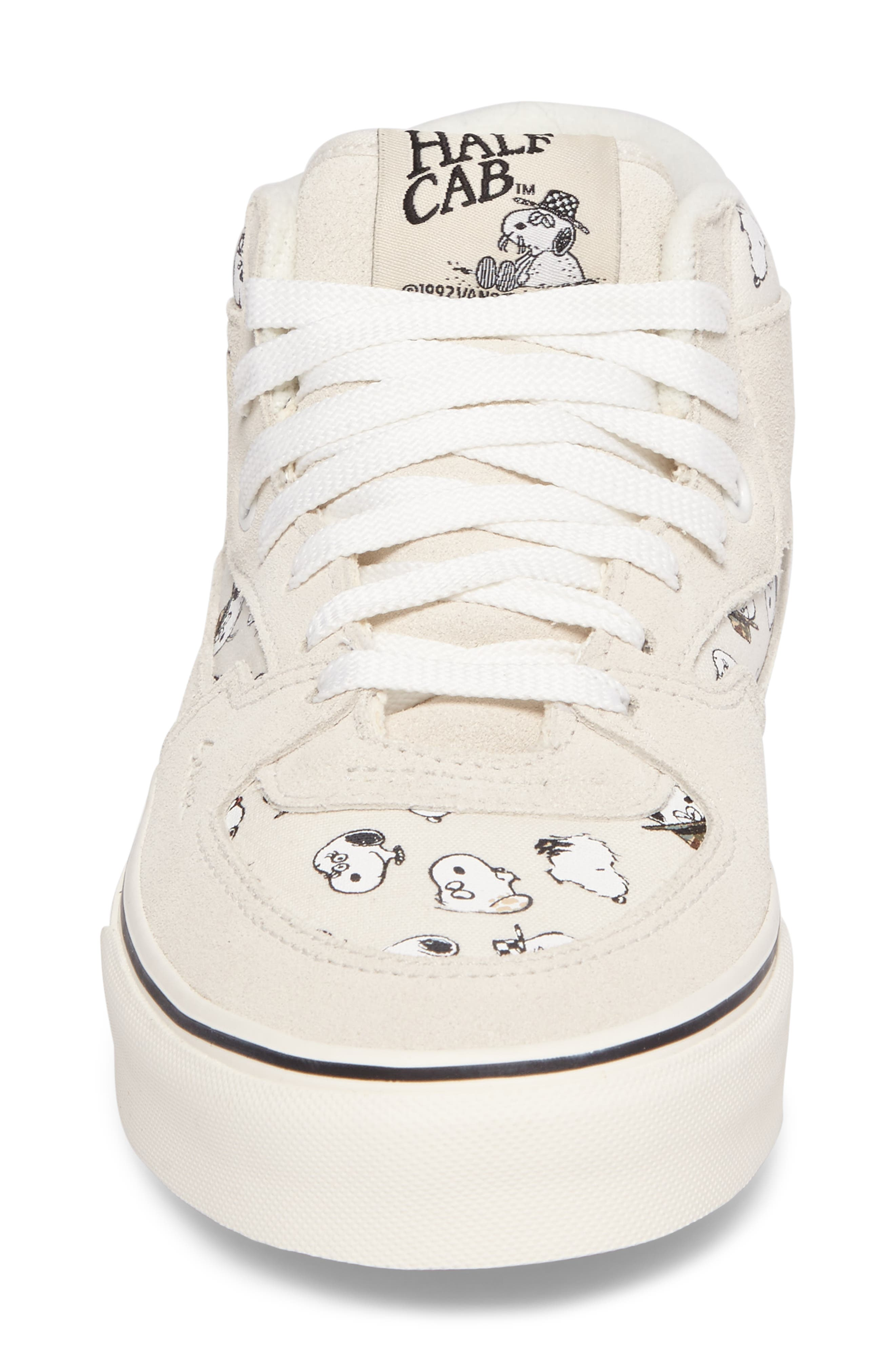 x Peanuts<sup>®</sup> Half Cab Sneaker,                             Alternate thumbnail 4, color,                             100