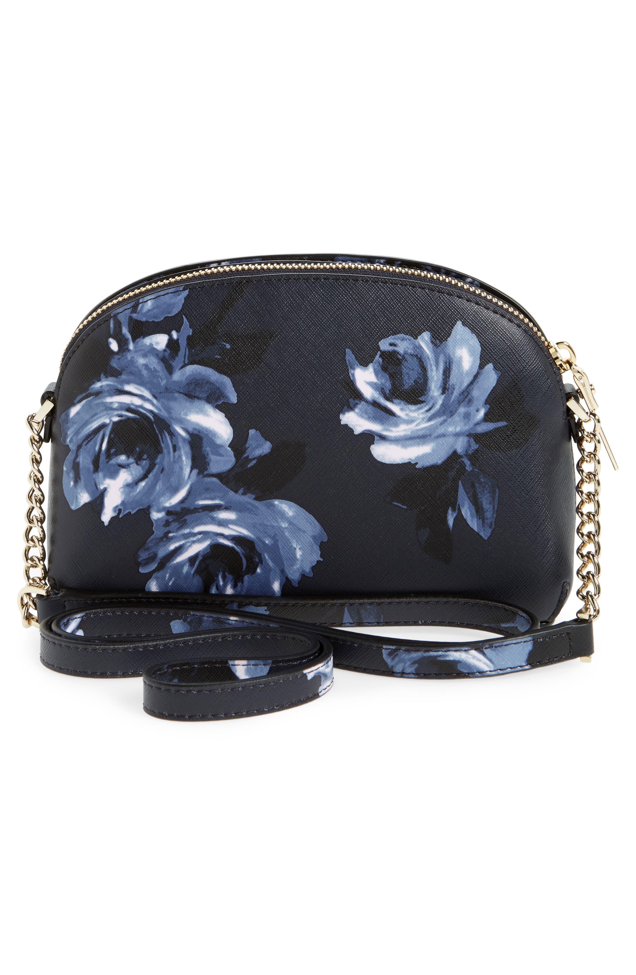 cameron street rose - hilli leather crossbody bag,                             Alternate thumbnail 3, color,                             458
