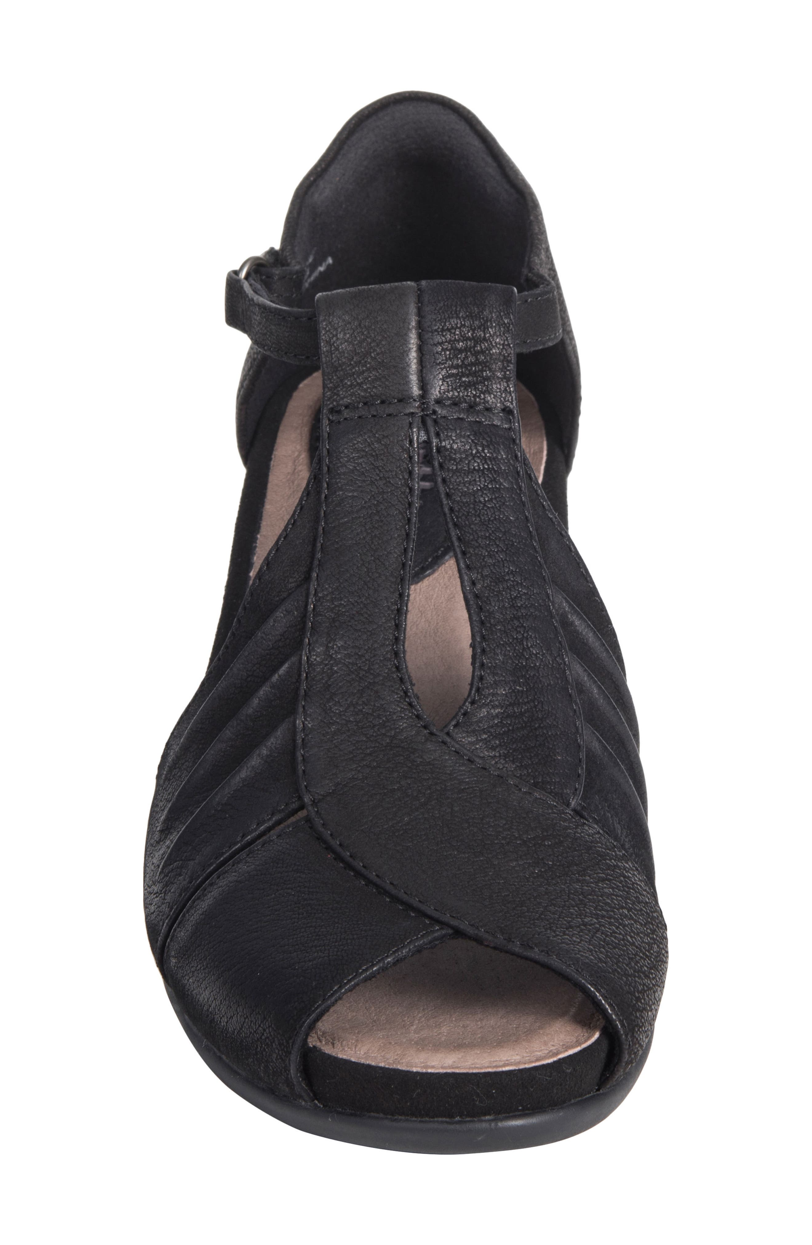 Primrose Wedge Sandal,                             Alternate thumbnail 4, color,                             001