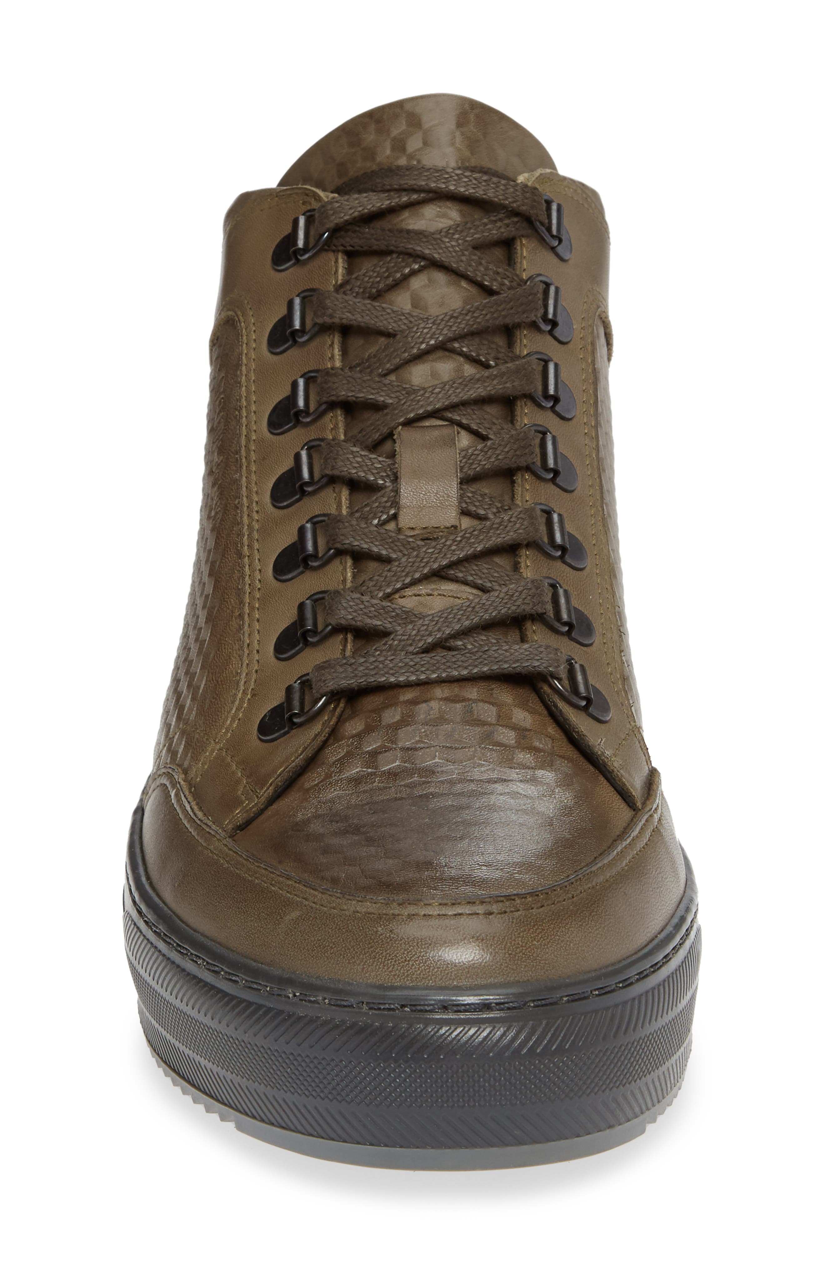 Houma Hooks Sneaker,                             Alternate thumbnail 4, color,                             MILITARY GREEN