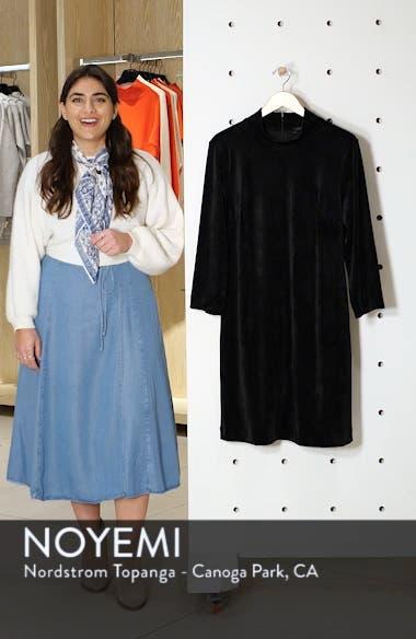 Endless Night Velour Shift Dress, sales video thumbnail
