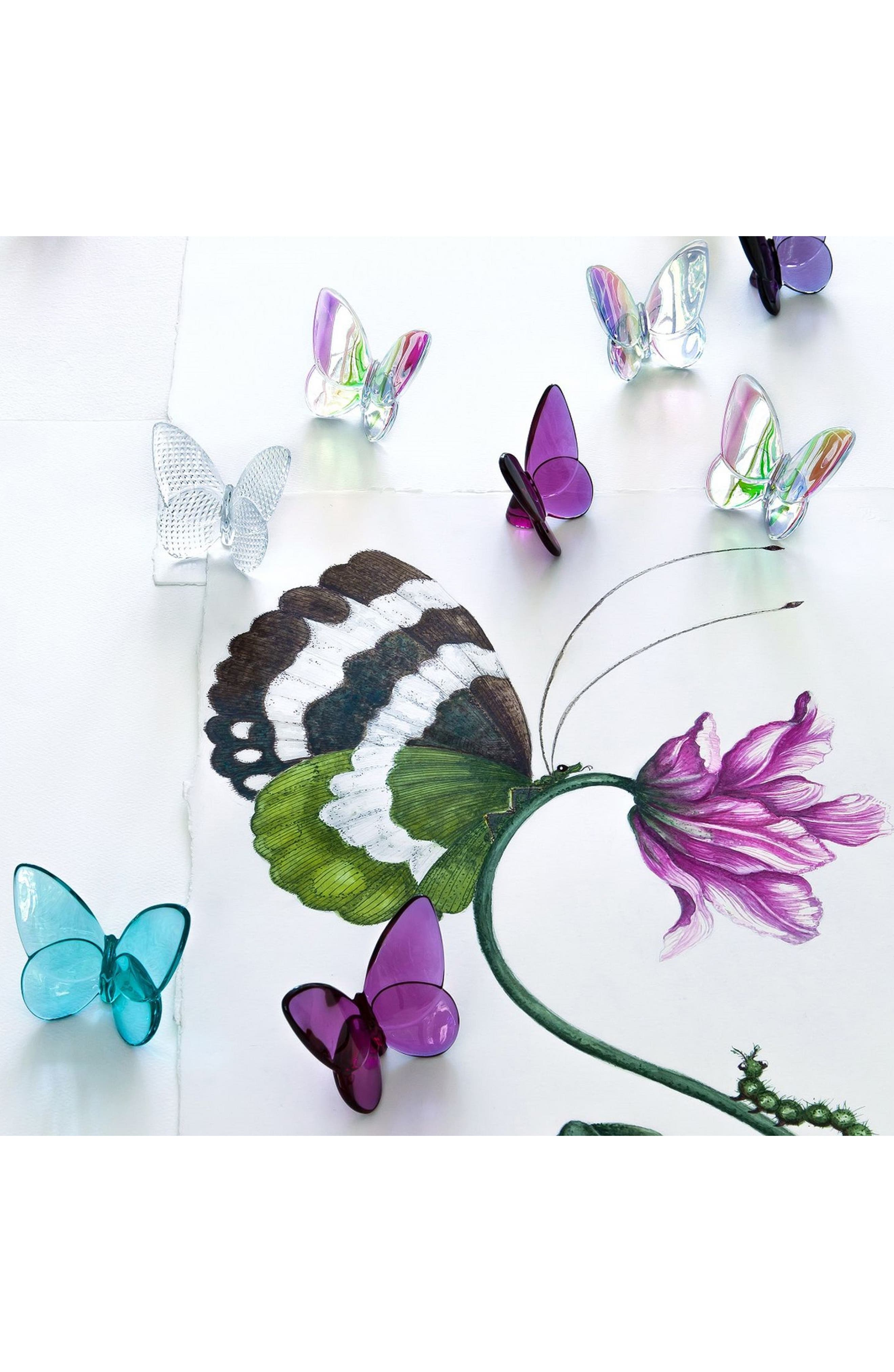 Lucky Lead Crystal Butterfly,                             Alternate thumbnail 2, color,                             IRIDESCENT