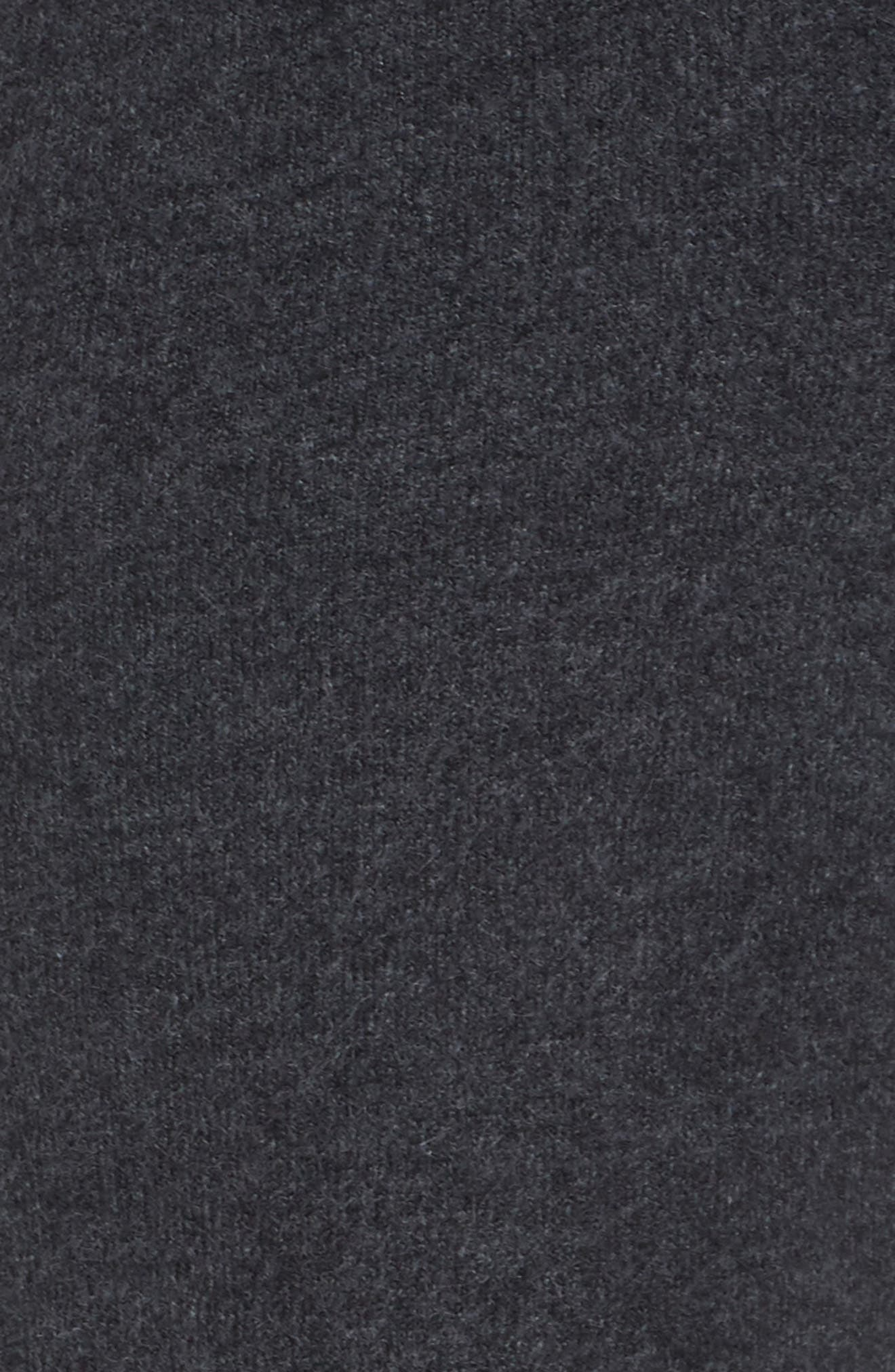 CASLON<SUP>®</SUP>,                             Off Duty Stripe Sweatpants,                             Alternate thumbnail 6, color,                             GREY DARK CHARCOAL HEATHER- LA