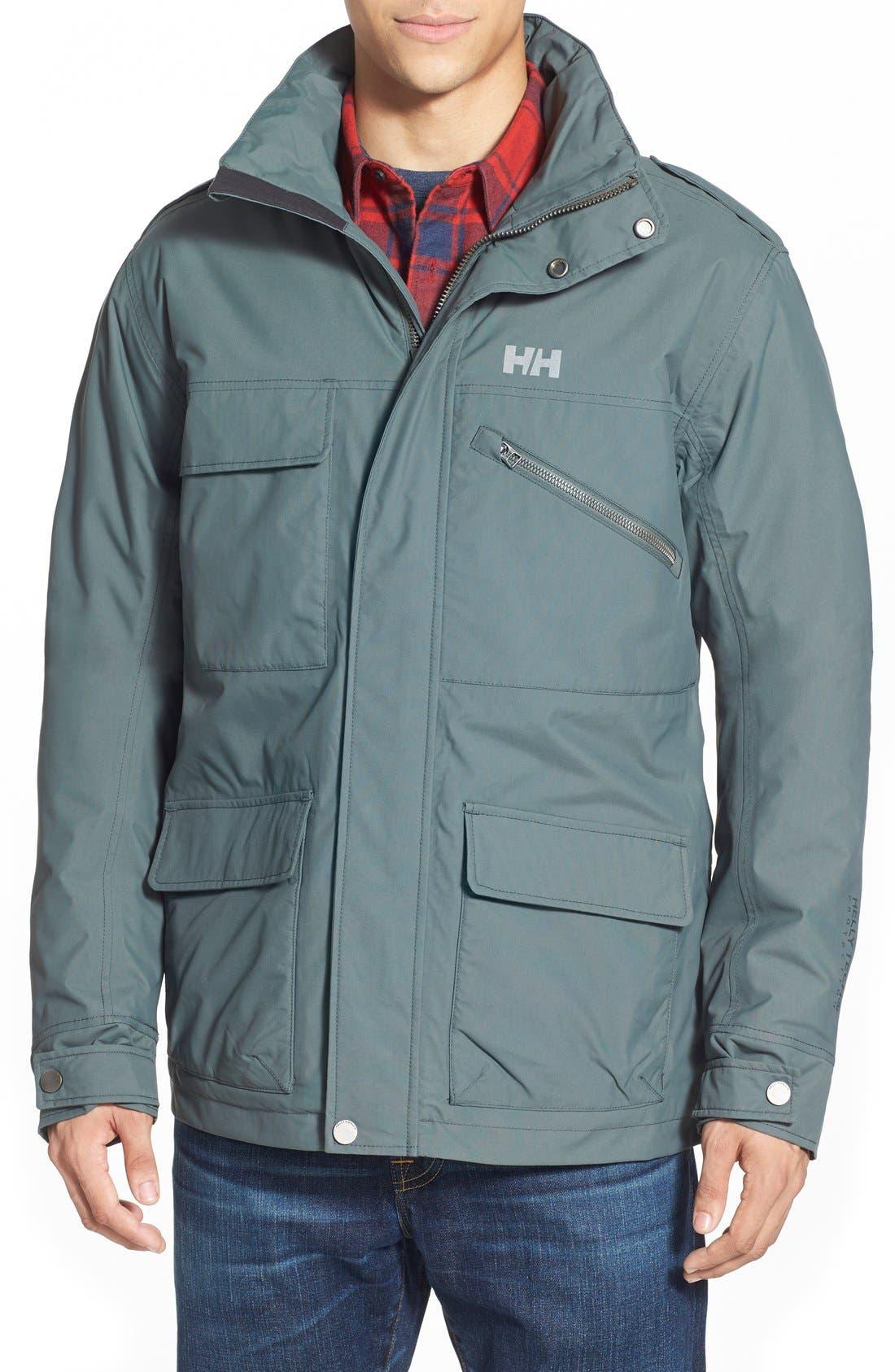 HellyHansen 'Universal' MotoRain Jacket,                             Main thumbnail 1, color,                             080