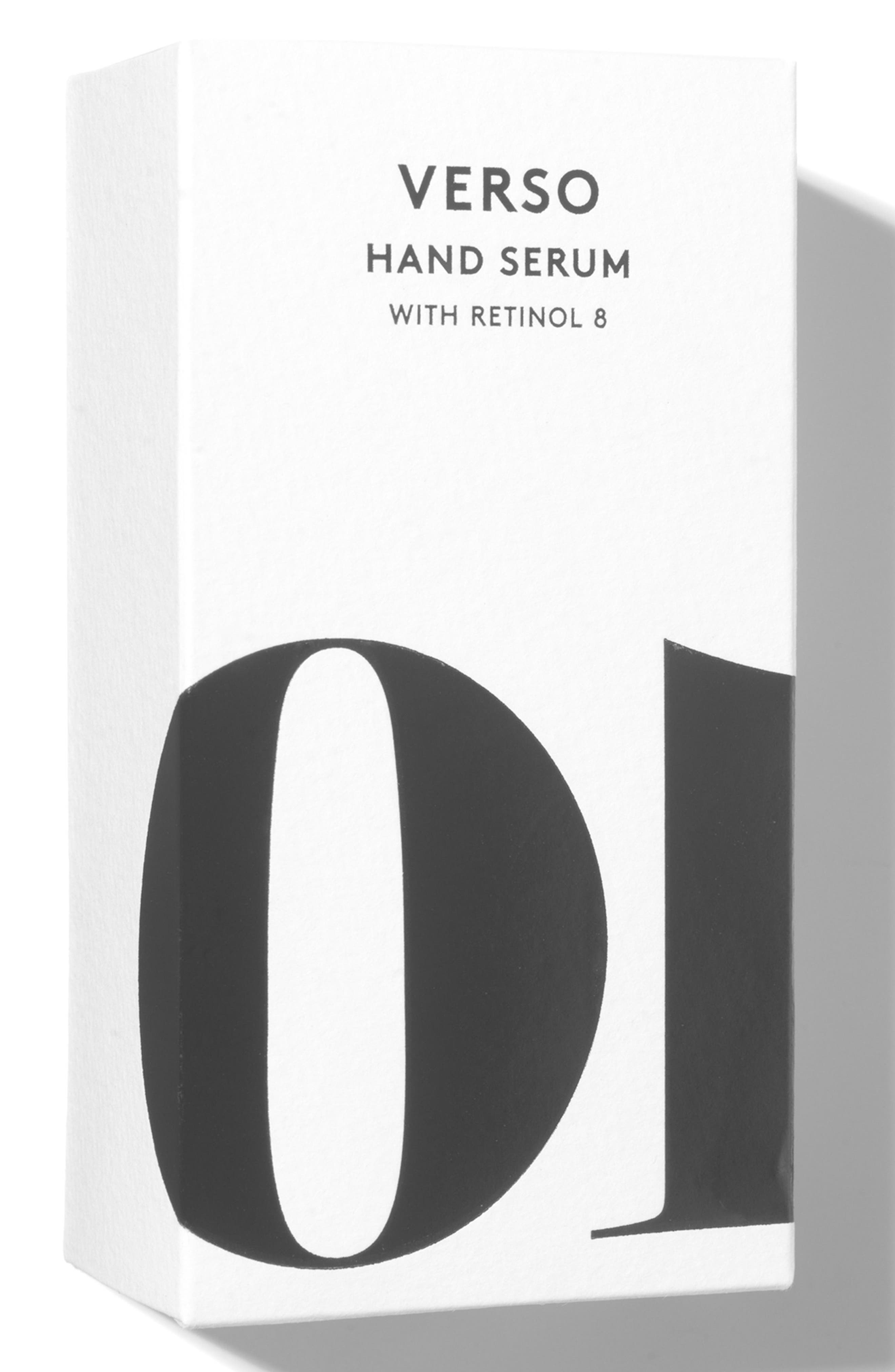 SPACE.NK.apothecary Verso Hand Serum,                             Alternate thumbnail 5, color,                             000
