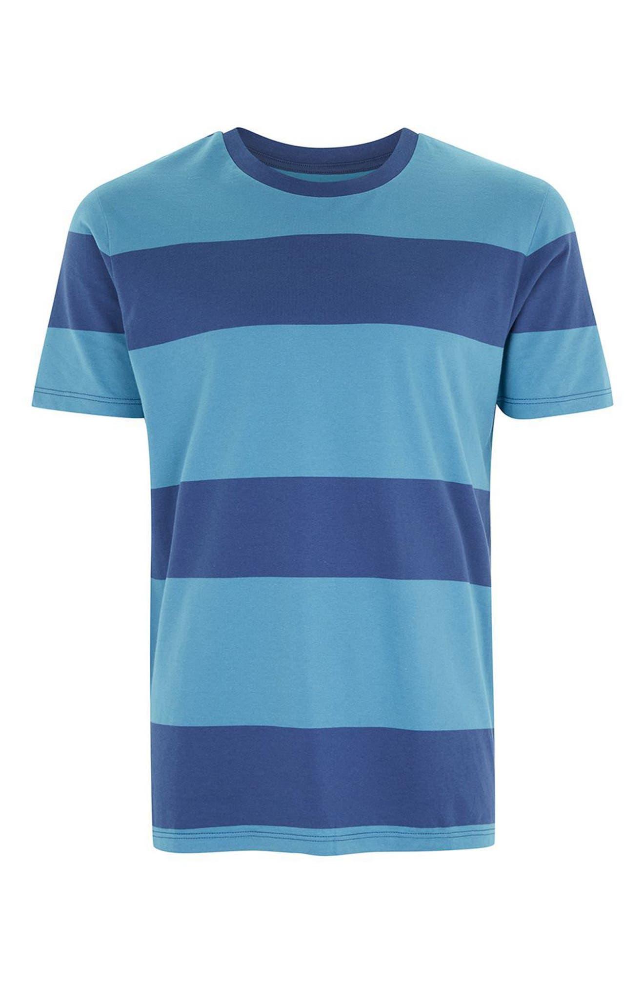 Stripe T-Shirt,                             Alternate thumbnail 4, color,                             401