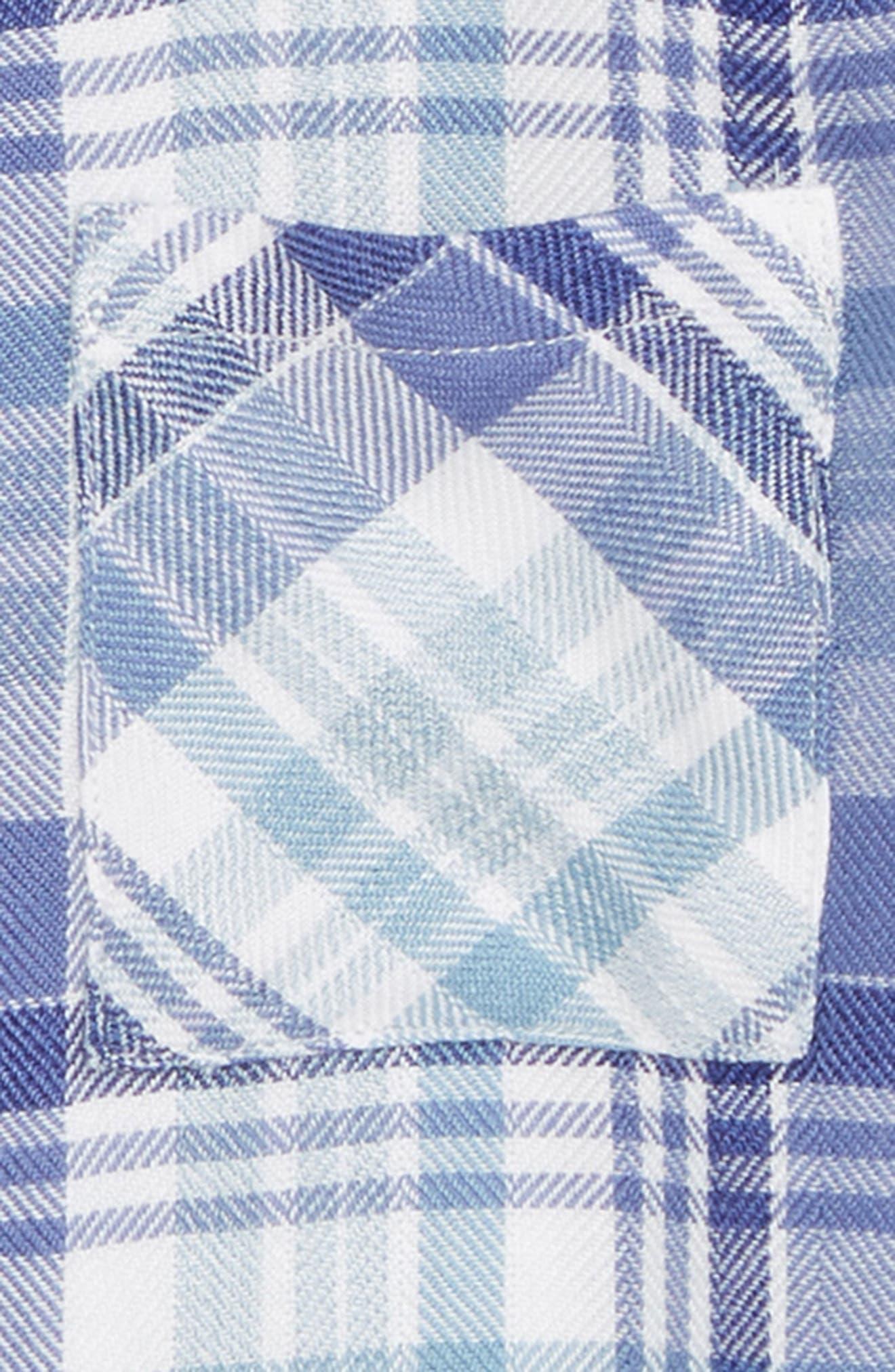 Hudson Plaid Shirt,                             Alternate thumbnail 2, color,                             401