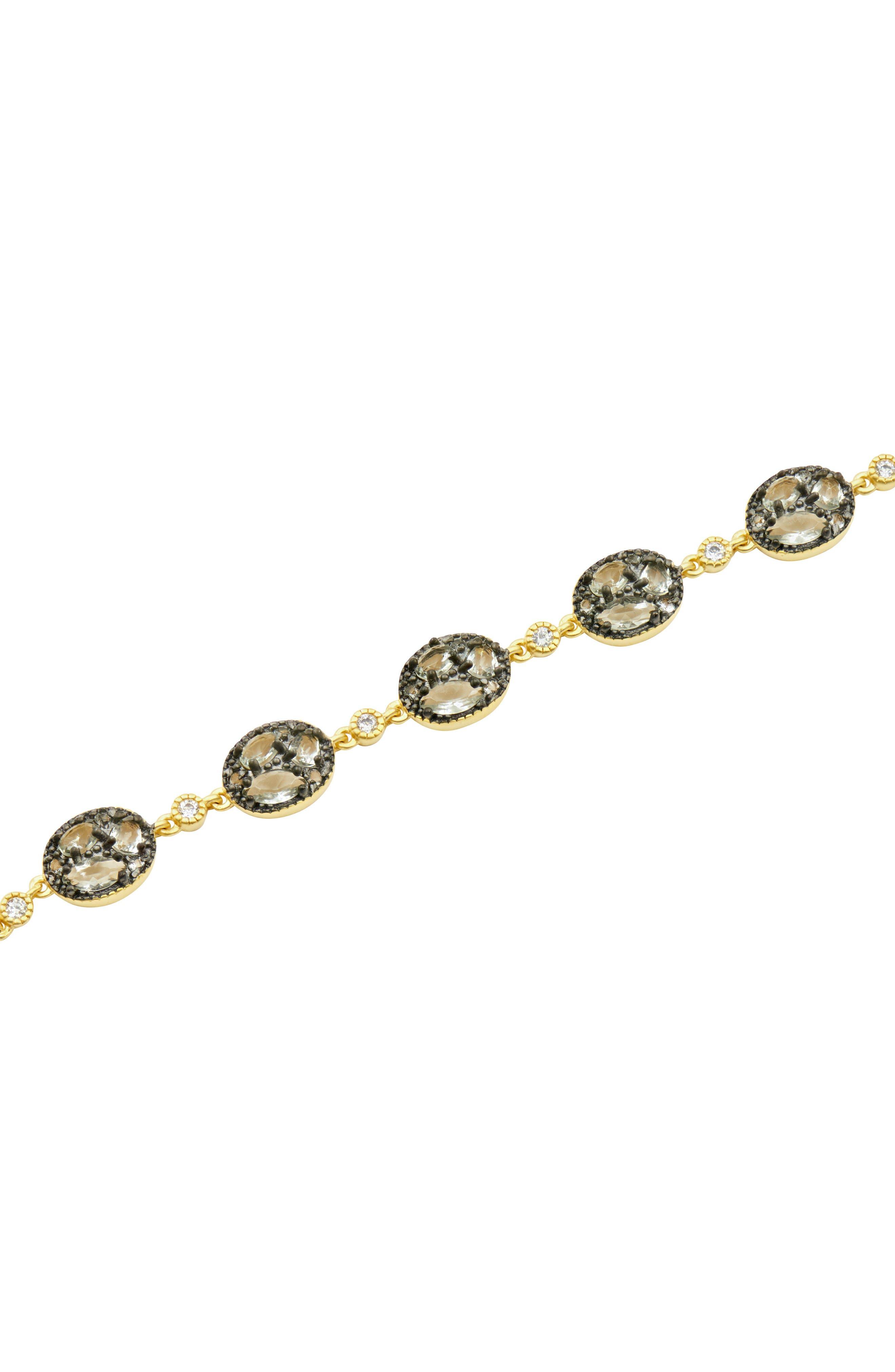 Rose Dor Line Bracelet,                             Alternate thumbnail 2, color,