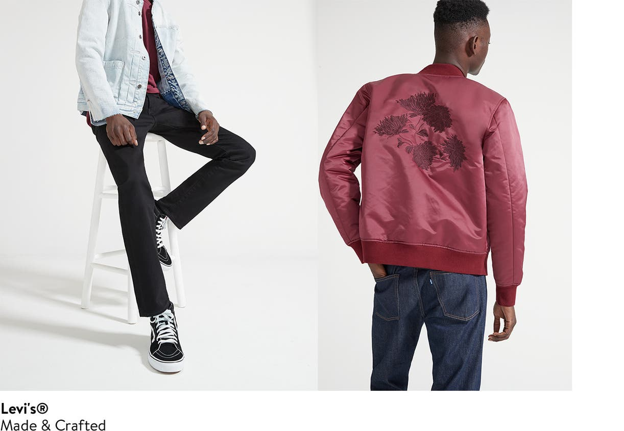 Levi's Made & Crafted designer clothing for men.