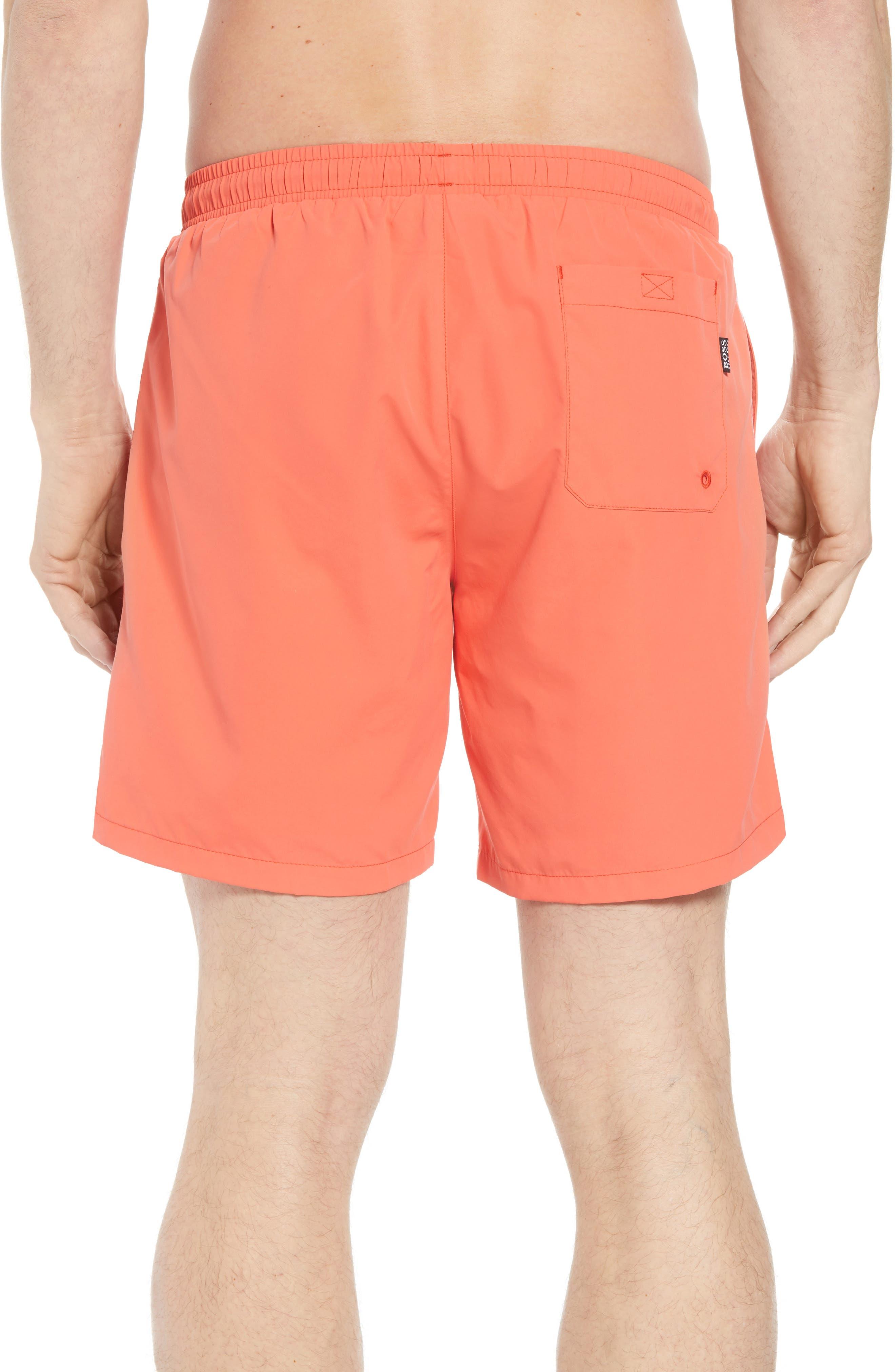 Seabream Regular Fit Stripe Swim Trunks,                             Alternate thumbnail 2, color,                             633