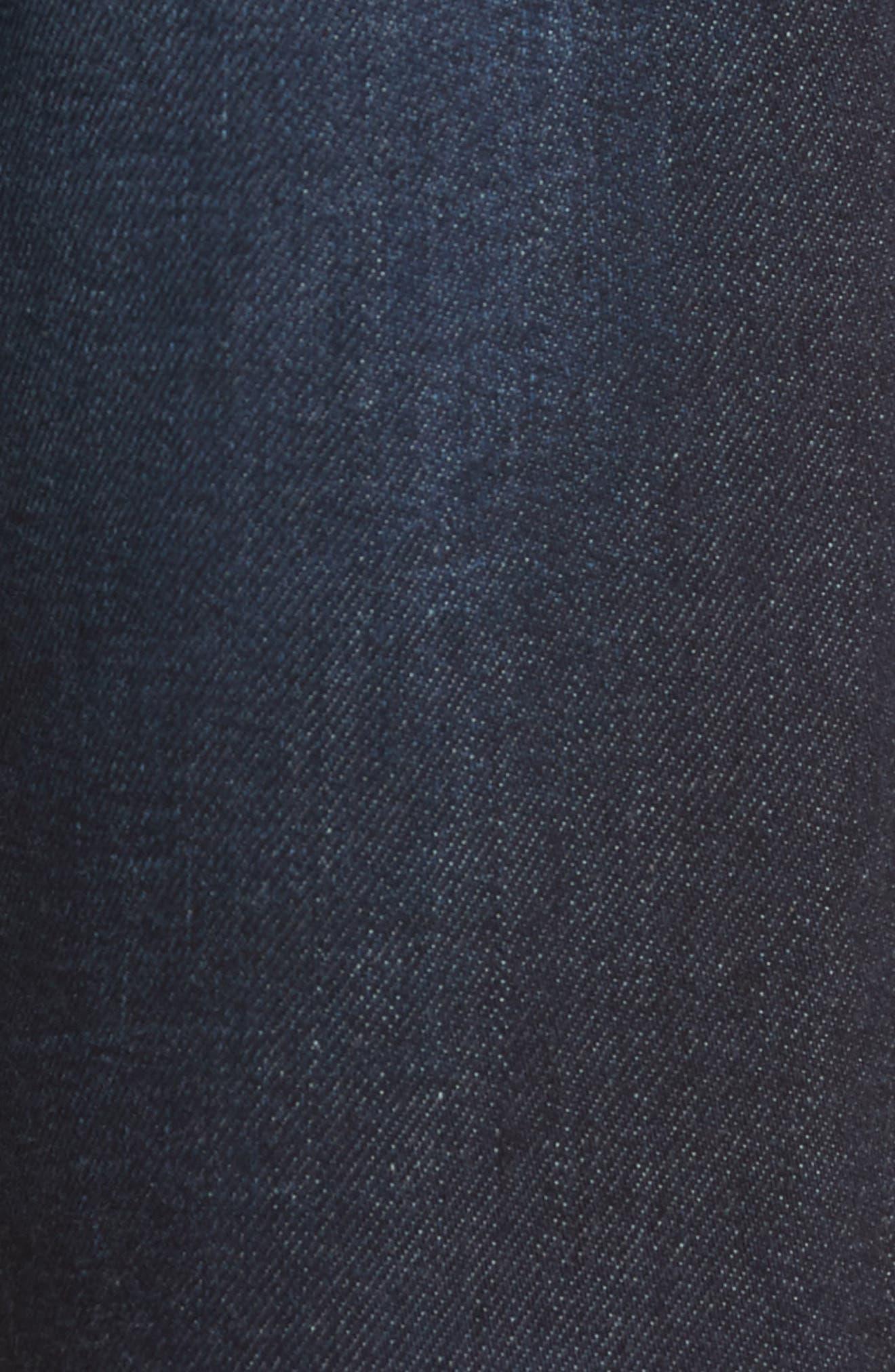 Graduate Slim Straight Leg Jeans,                             Alternate thumbnail 5, color,                             486