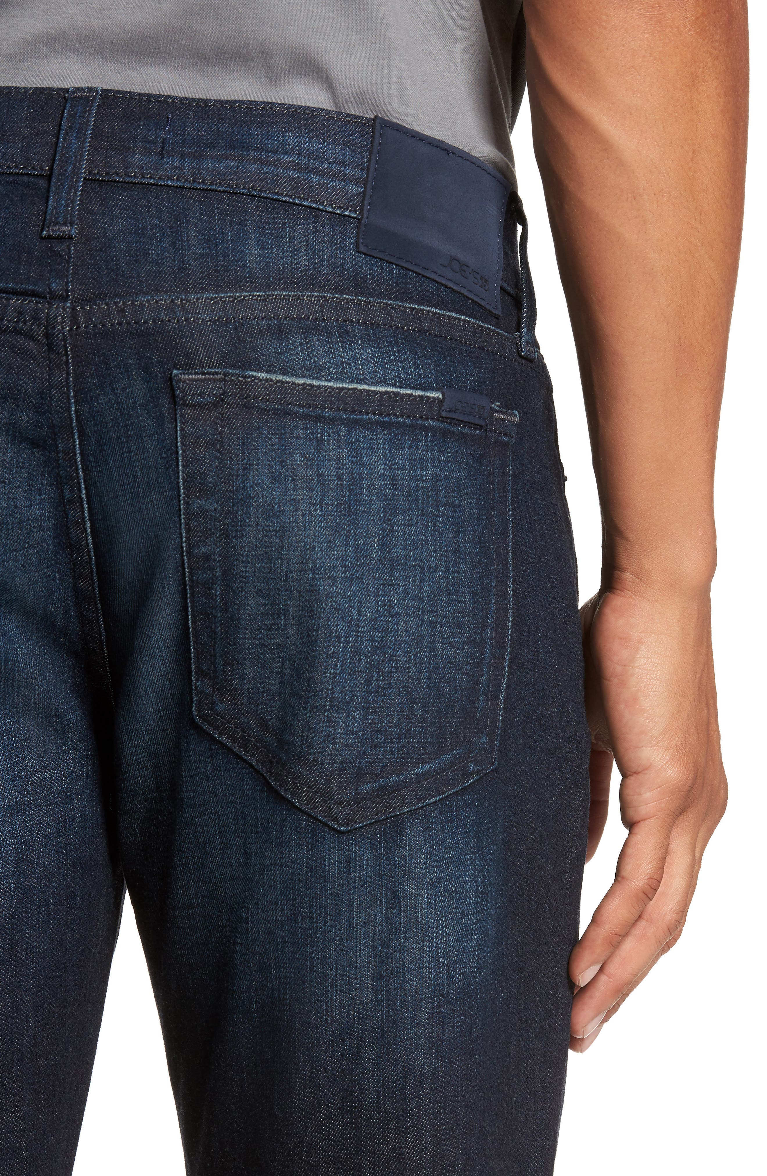 Brixton Slim Straight Fit Jeans,                             Alternate thumbnail 4, color,                             405