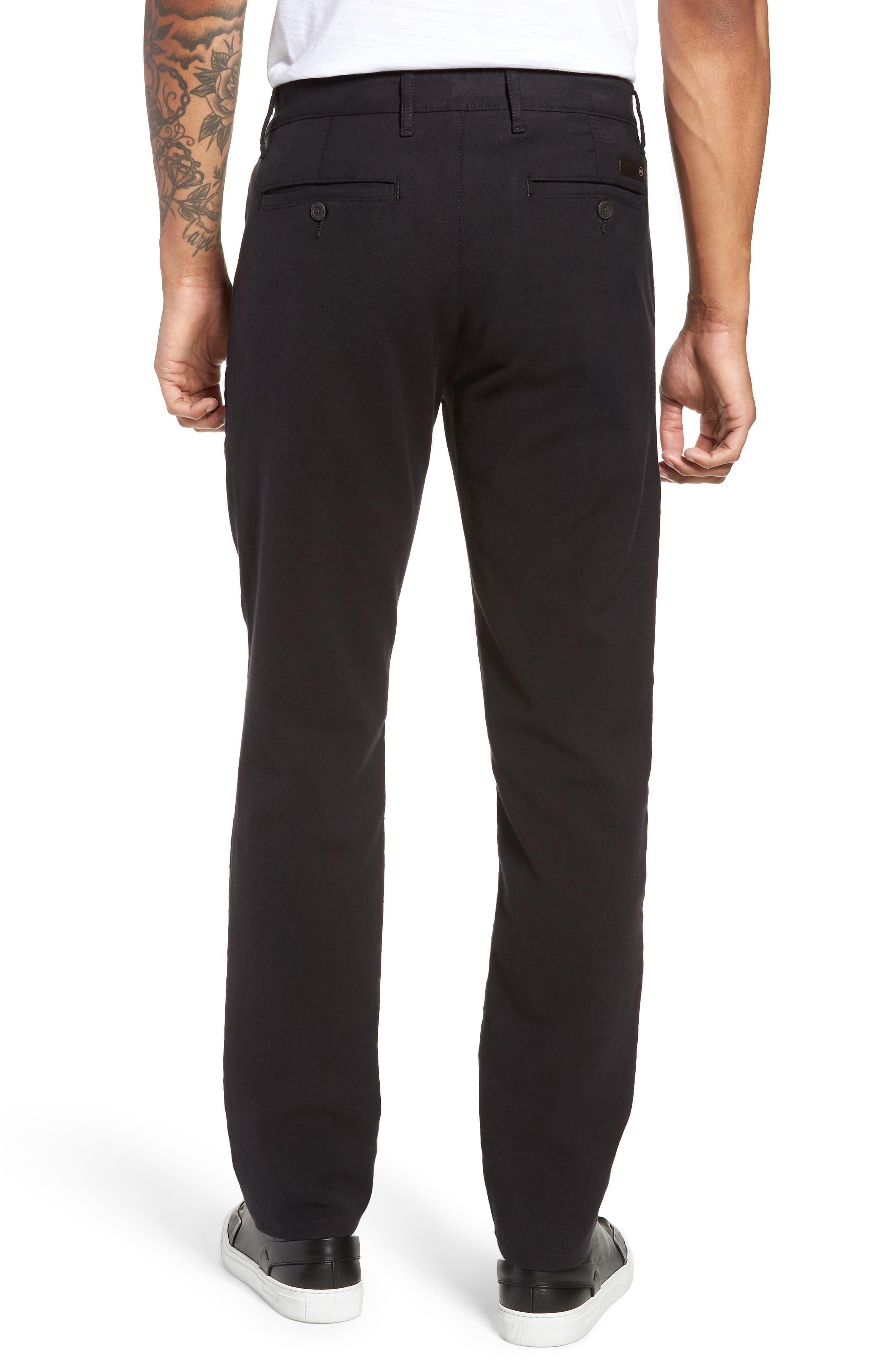Marshall Slim Fit Chino Pants,                             Alternate thumbnail 2, color,                             GREY STONE