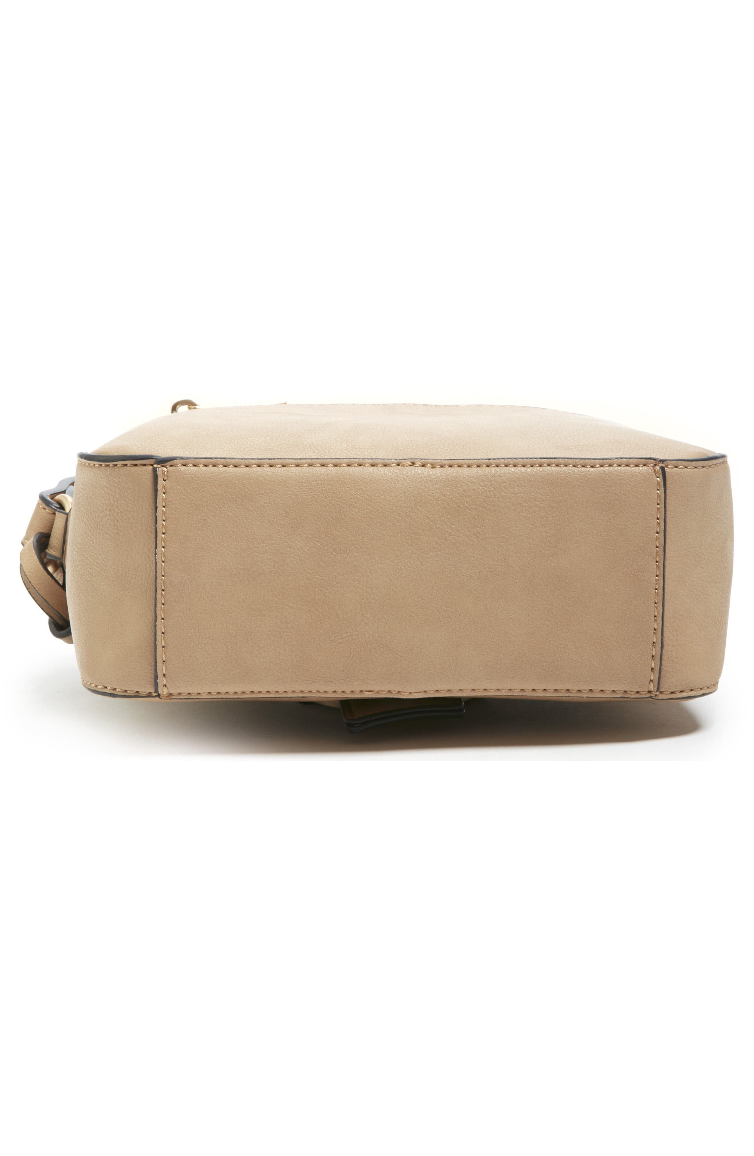 Faux Leather Camera Crossbody Bag,                             Alternate thumbnail 5, color,                             251