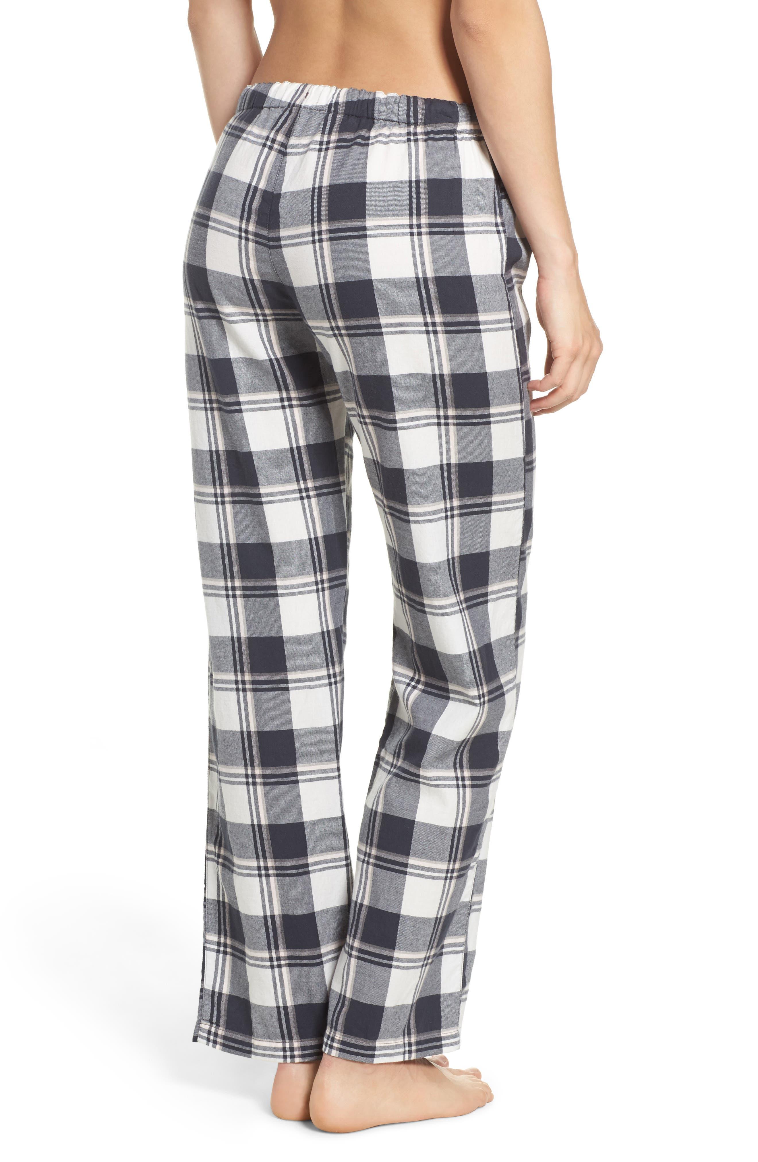 Plaid Pajama Pants,                             Alternate thumbnail 2, color,                             900