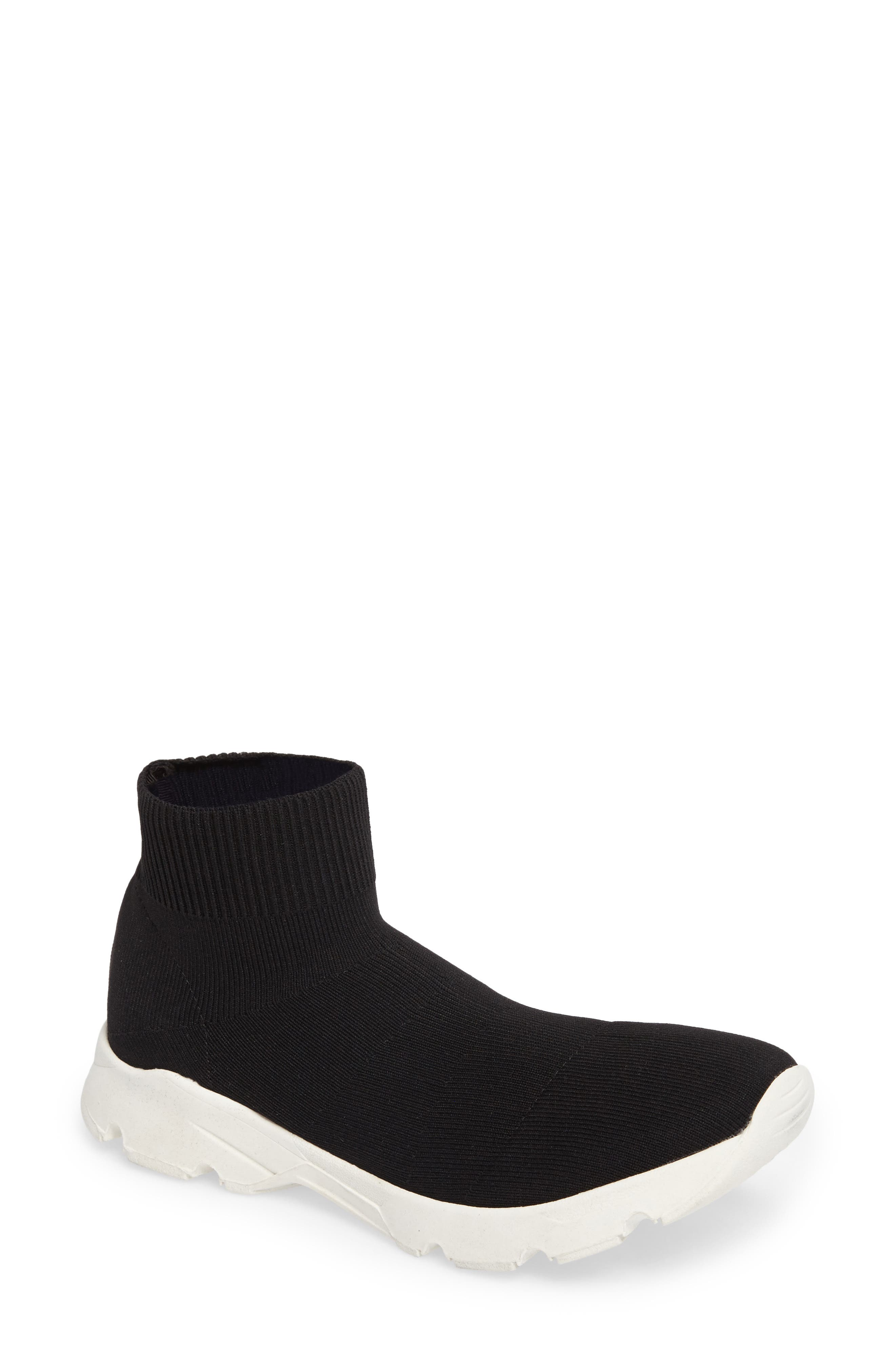 Winston Knit High Top Sneaker,                             Main thumbnail 1, color,                             001