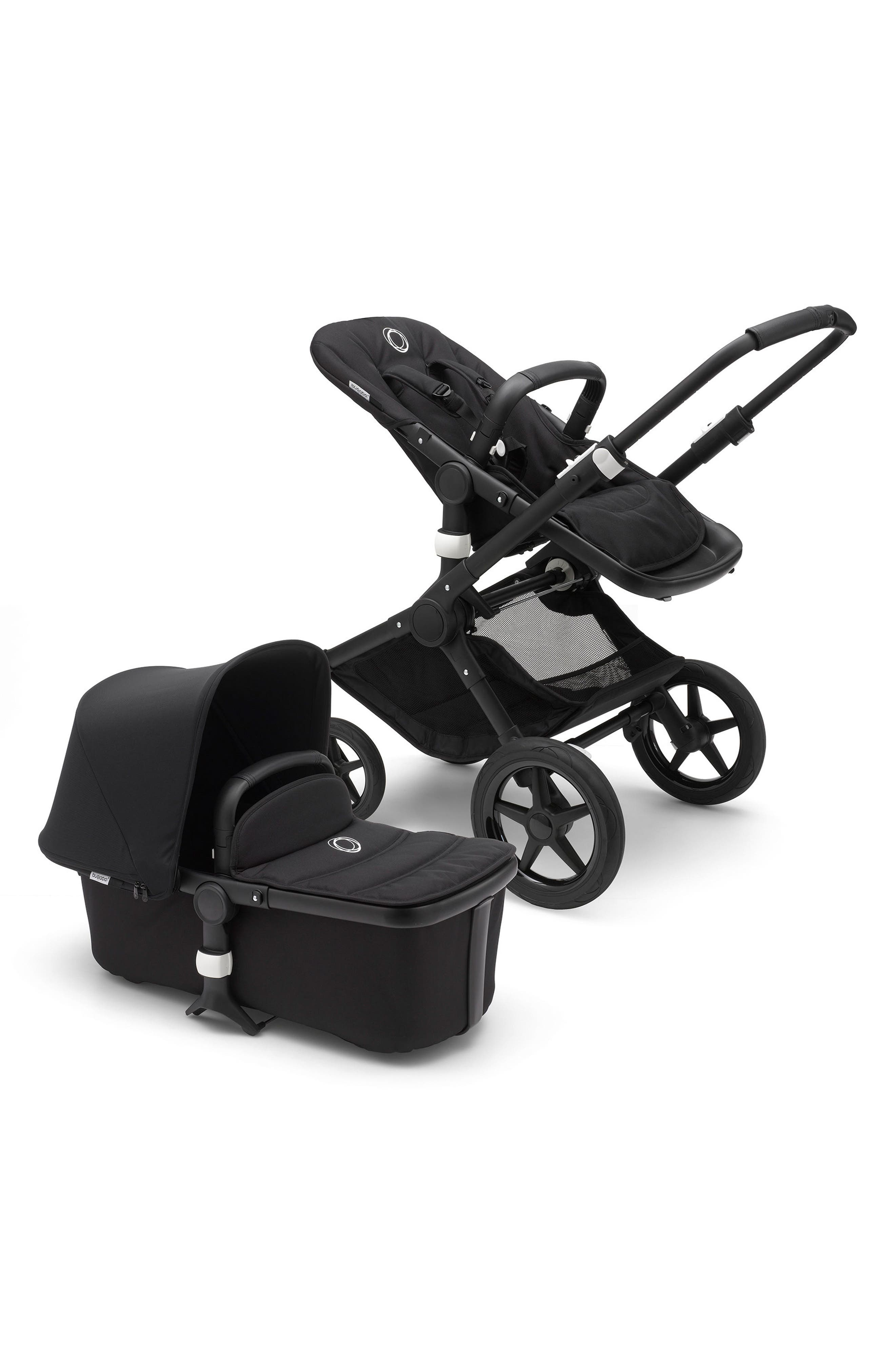 Fox Complete Stroller,                         Main,                         color, BLACK/ BLACK