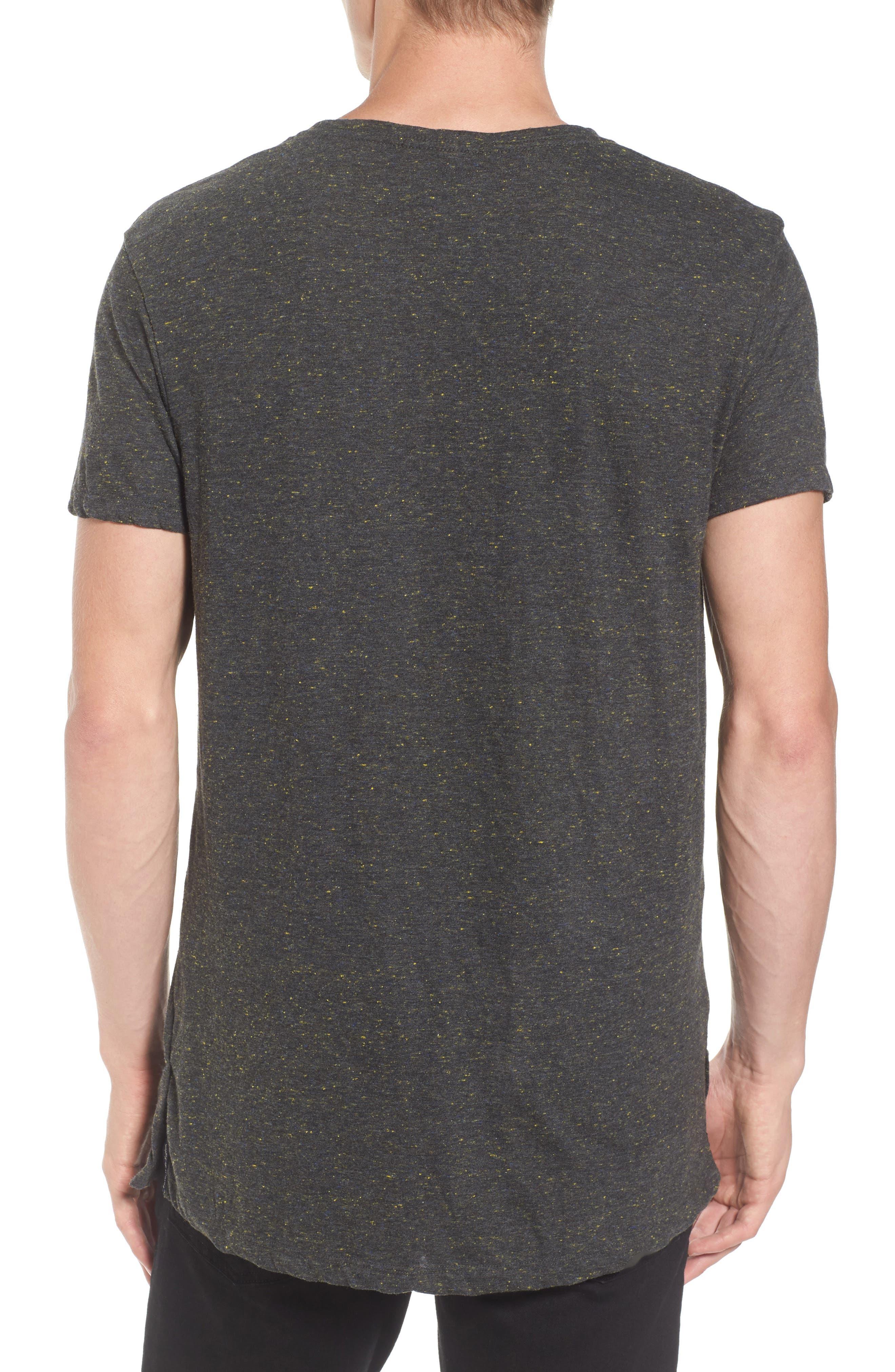 Mélange Jersey T-Shirt,                             Alternate thumbnail 2, color,                             030