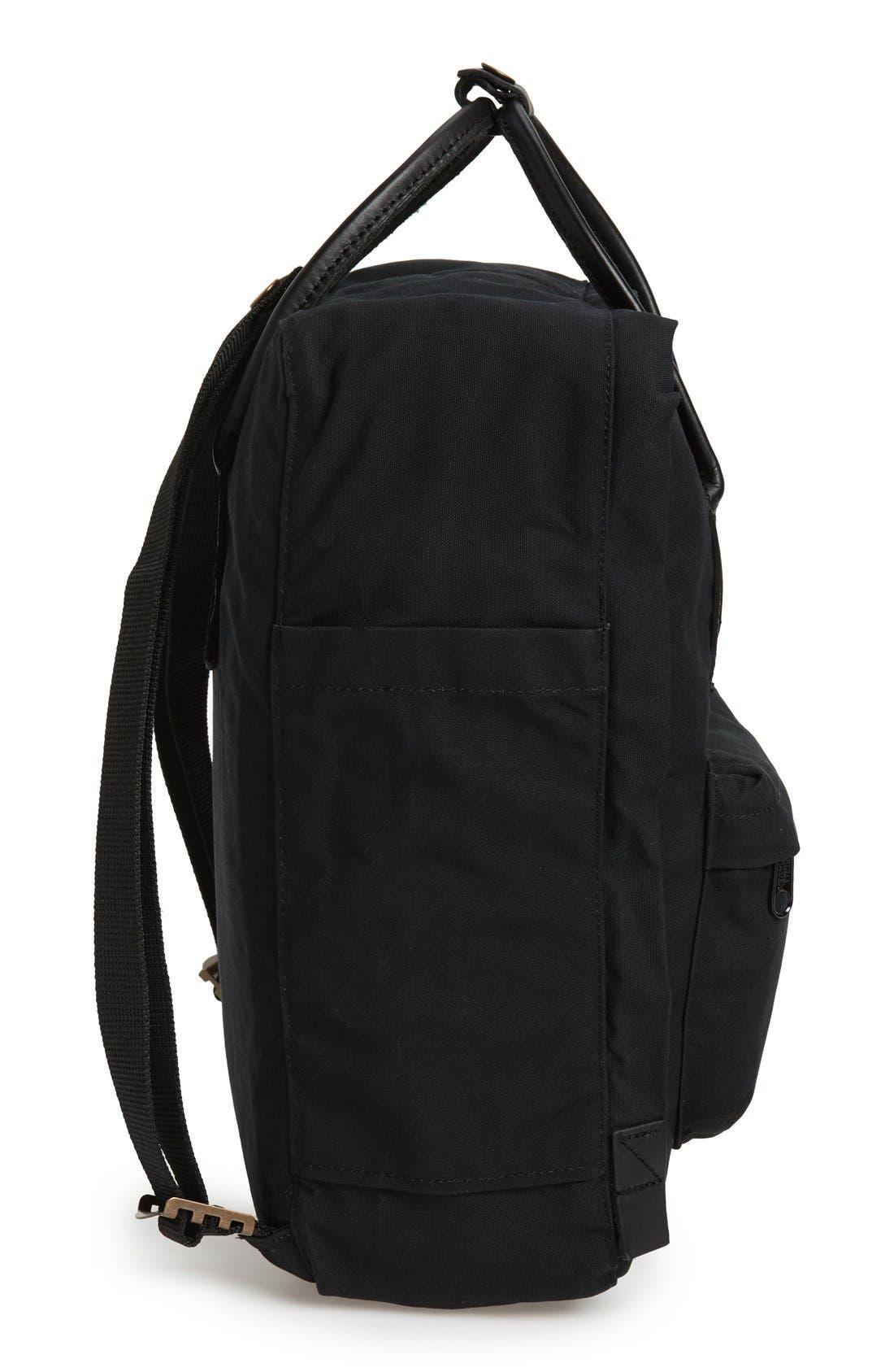 'Kånken No. 2' Water Resistant Backpack,                             Alternate thumbnail 6, color,                             BLACK