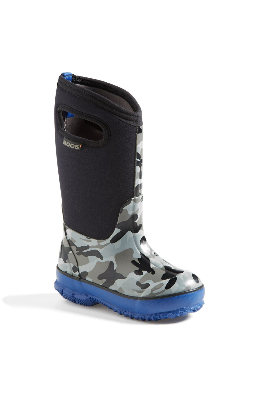 Classic Camo Insulated Waterproof Boot,                             Main thumbnail 1, color,                             001