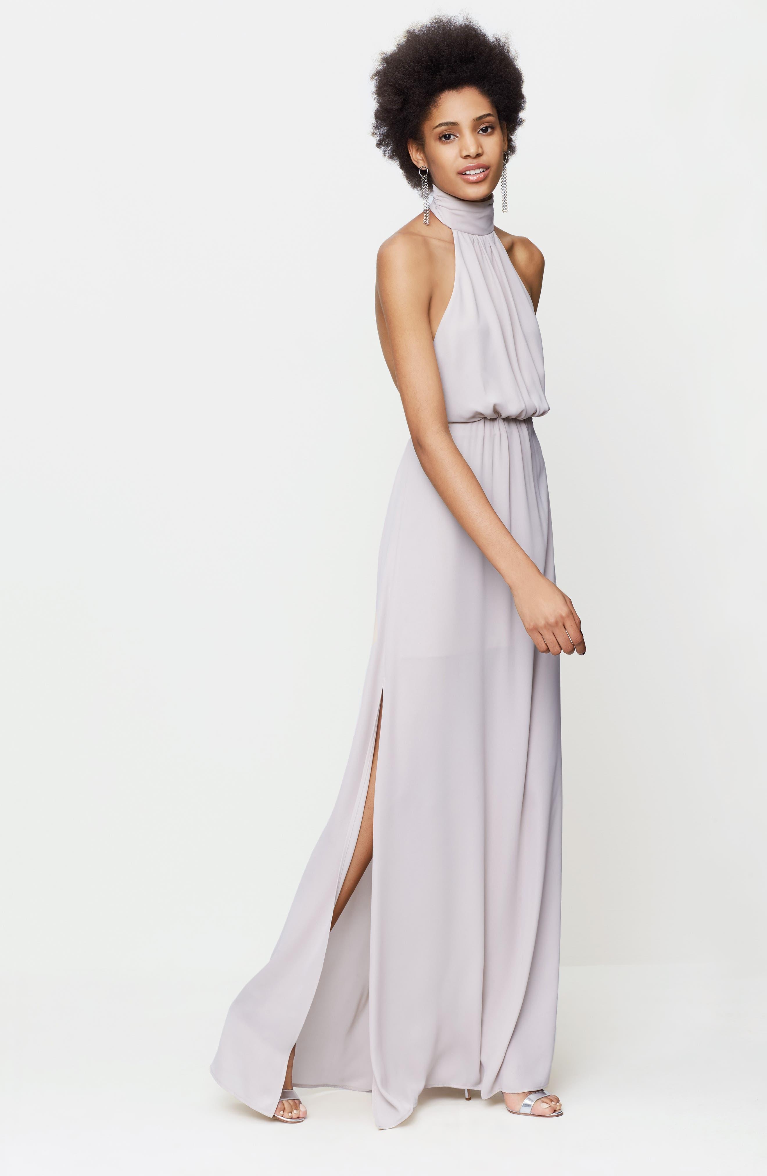 Collette Halter Gown,                         Main,                         color, 260