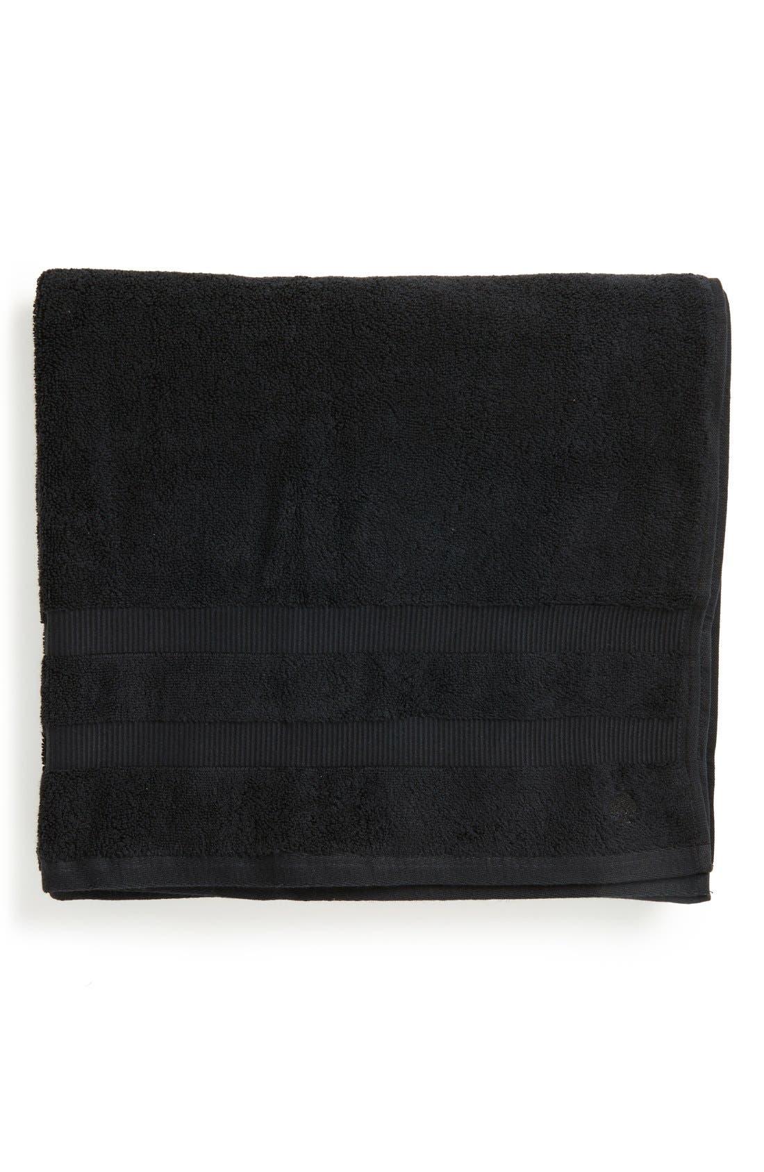 'chattam stripe' bath towel,                             Main thumbnail 1, color,                             BLACK
